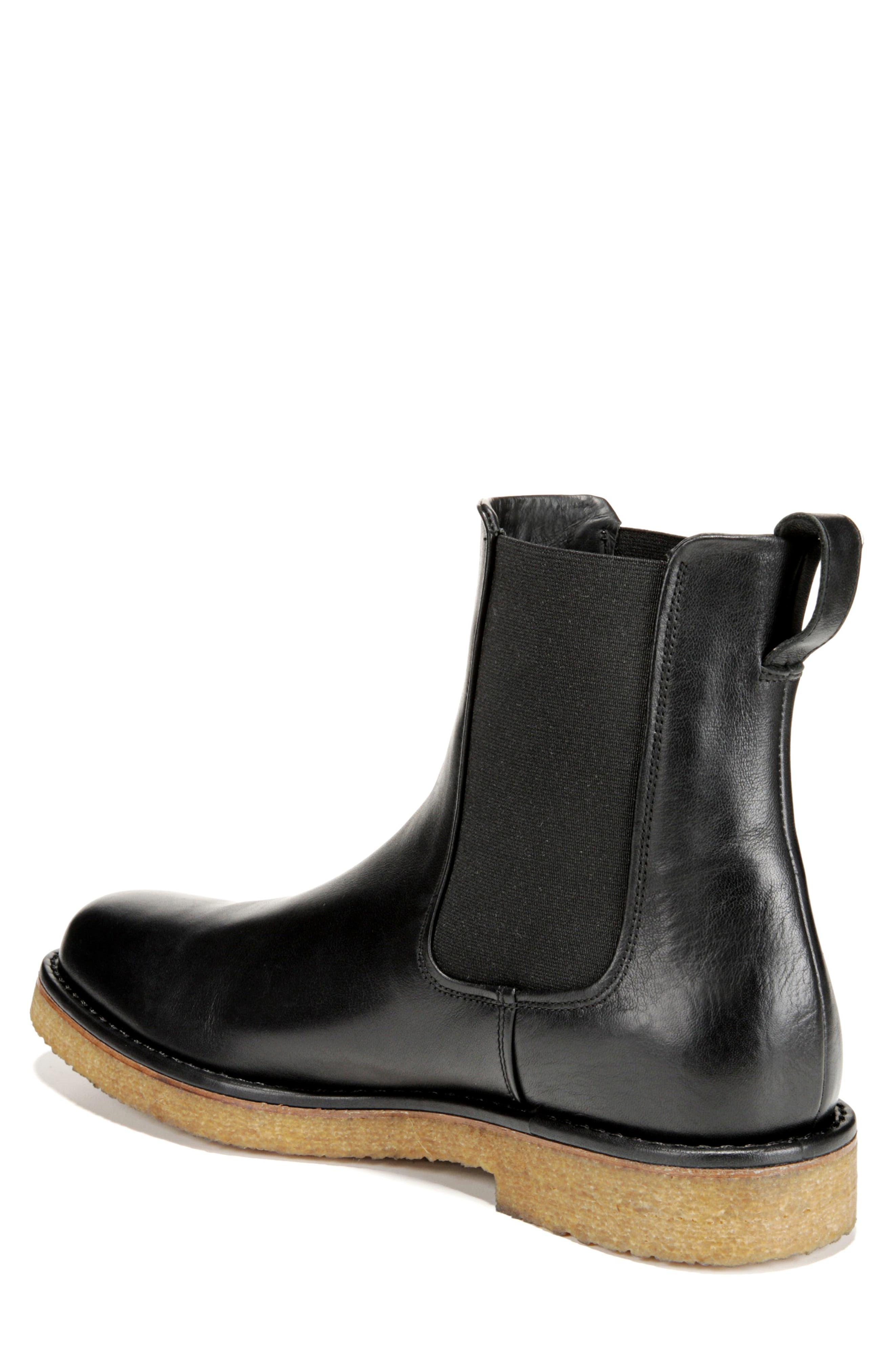 Cresslor Chelsea Boot,                             Alternate thumbnail 2, color,                             BLACK