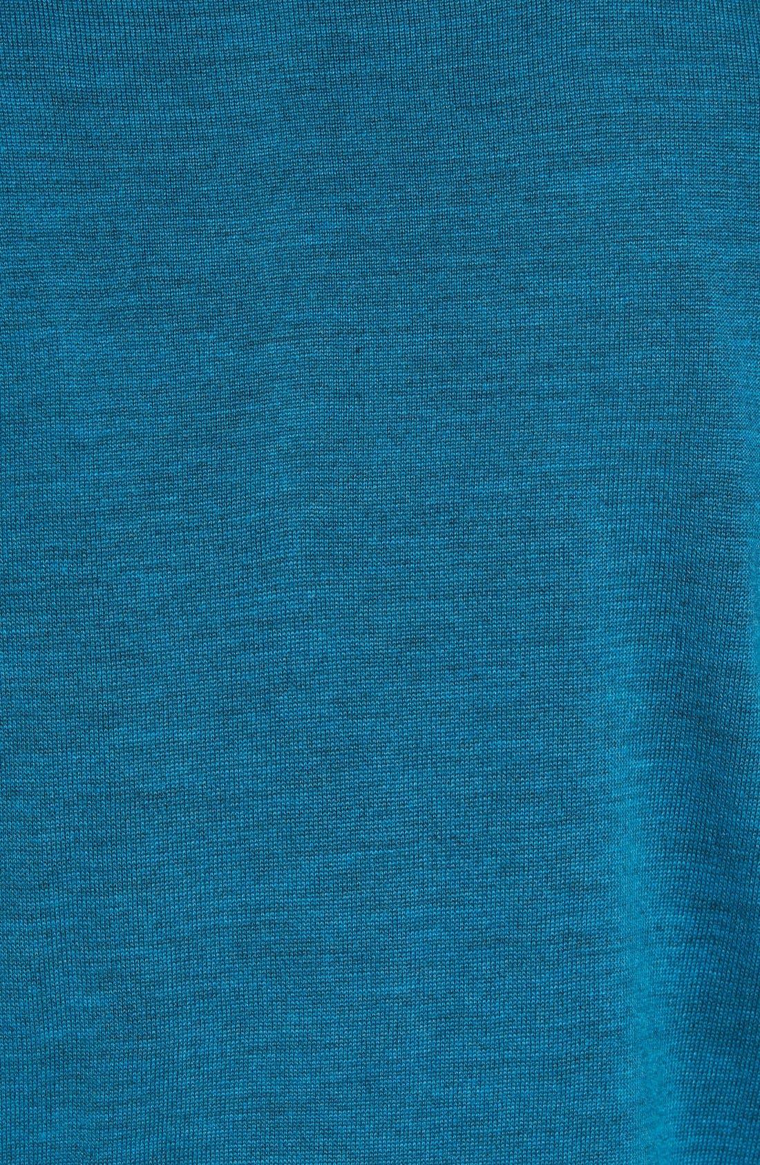 Douglas Quarter Zip Wool Blend Sweater,                             Alternate thumbnail 28, color,