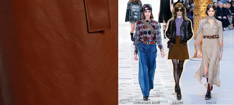 Get Ahead at FW20 Paris Fashion Week: '70s revival.