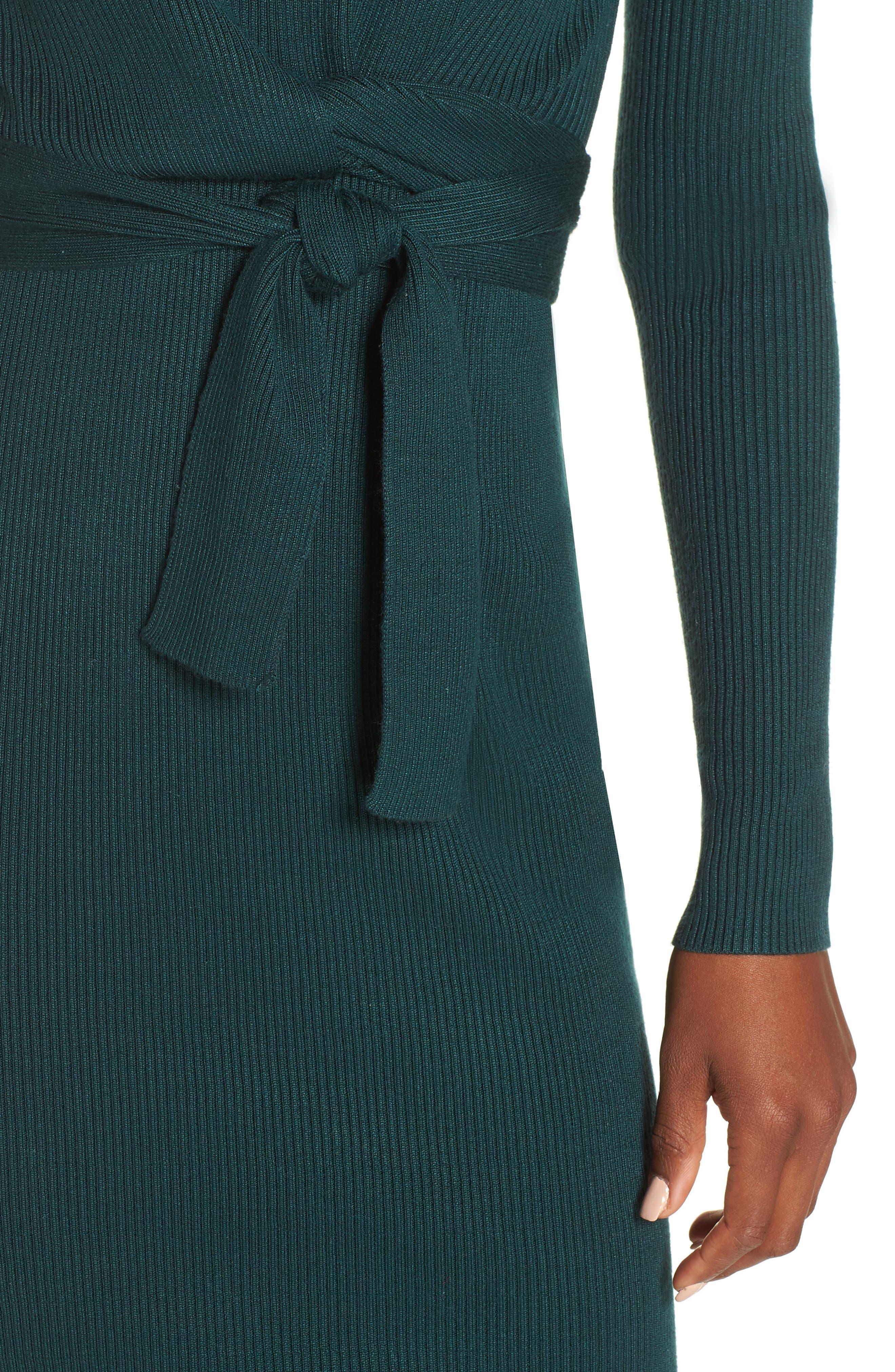Dovie Sweater Dress,                             Alternate thumbnail 4, color,                             307