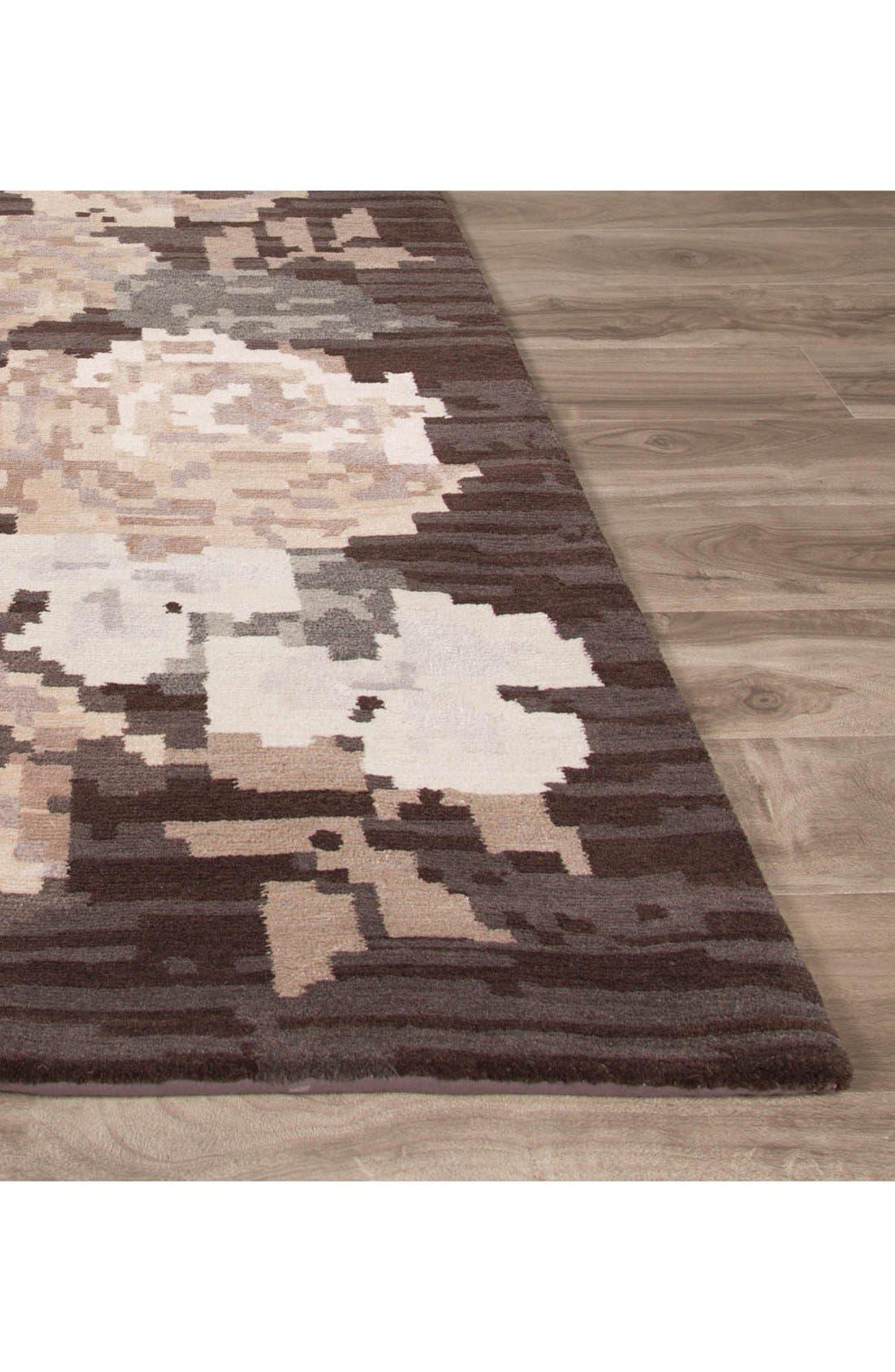 'murray - floral pattern' wool blend rug,                             Alternate thumbnail 2, color,                             200