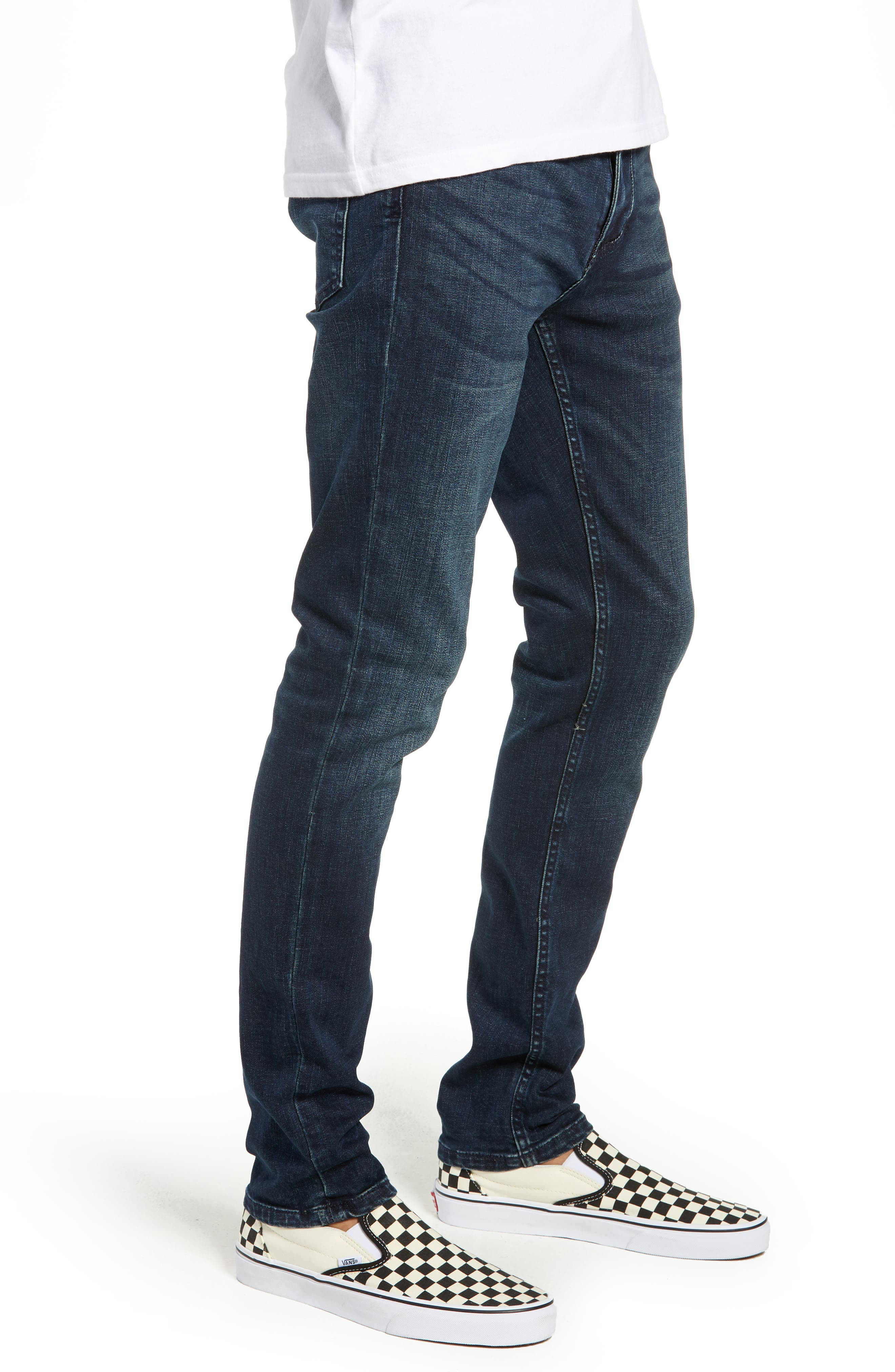 Horatio Skinny Fit Jeans,                             Alternate thumbnail 3, color,                             425
