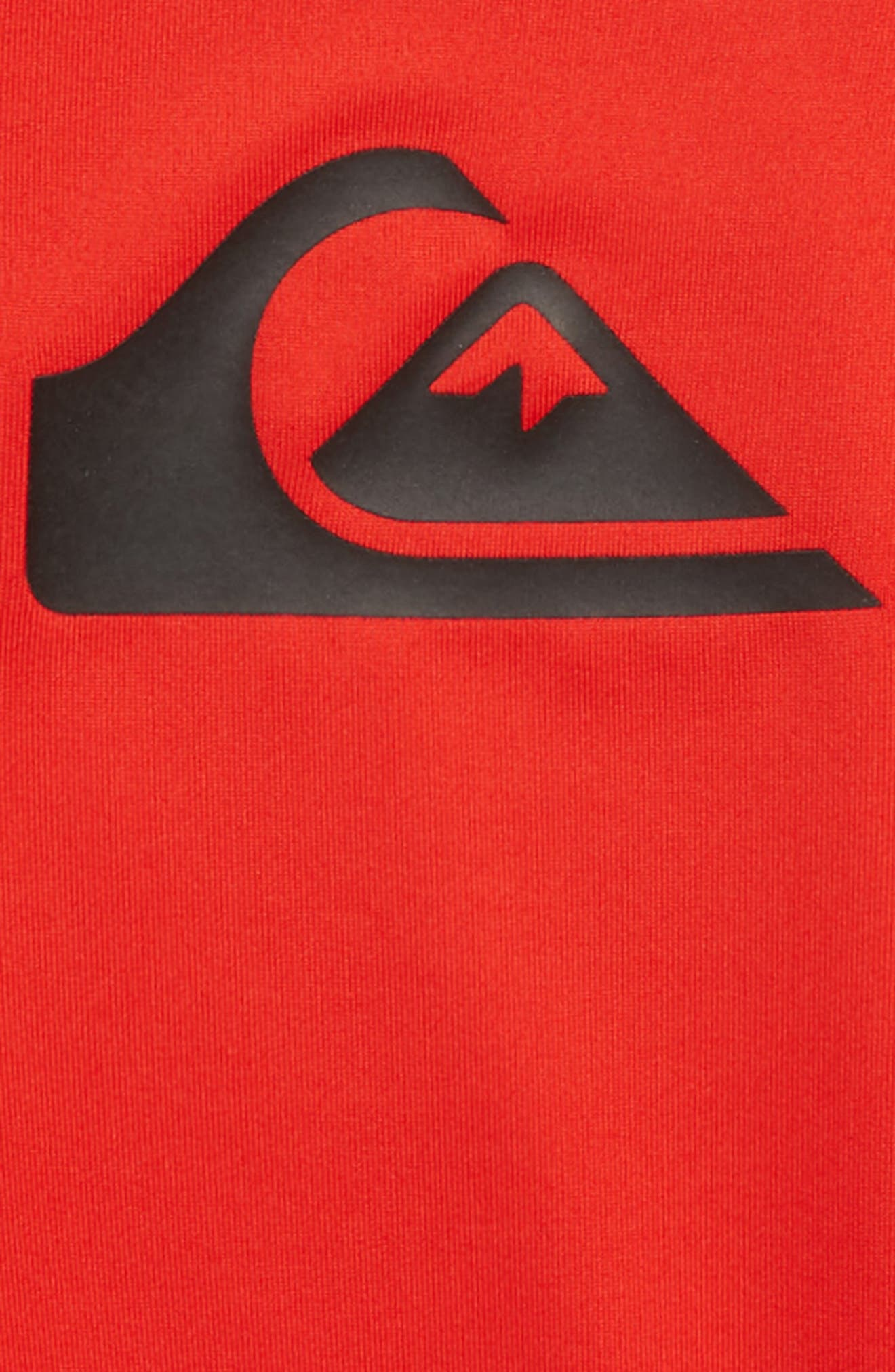 Logo Rashguard Shirt,                             Alternate thumbnail 4, color,
