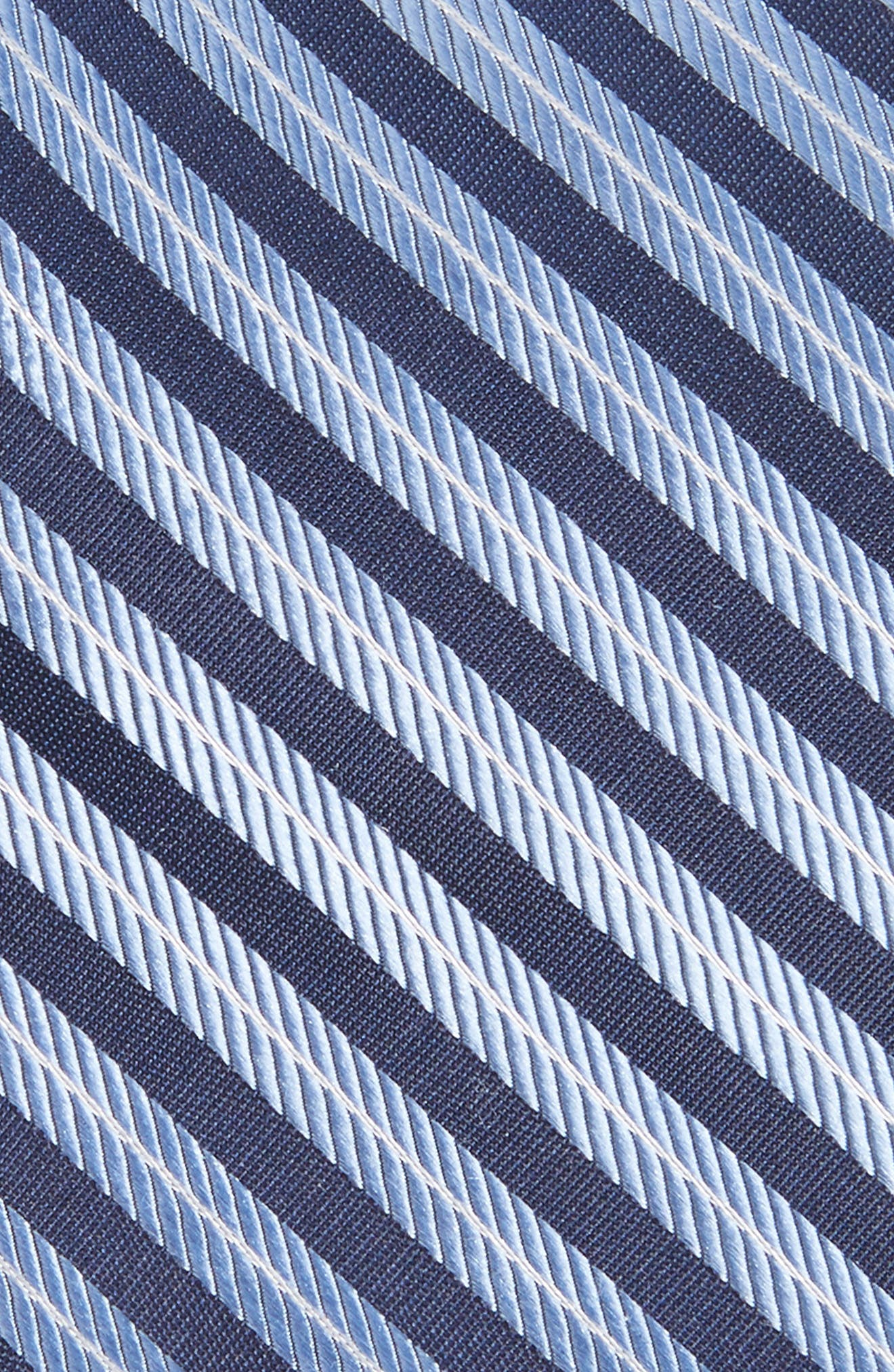 Milliner Stripe Silk Tie,                             Alternate thumbnail 2, color,                             400
