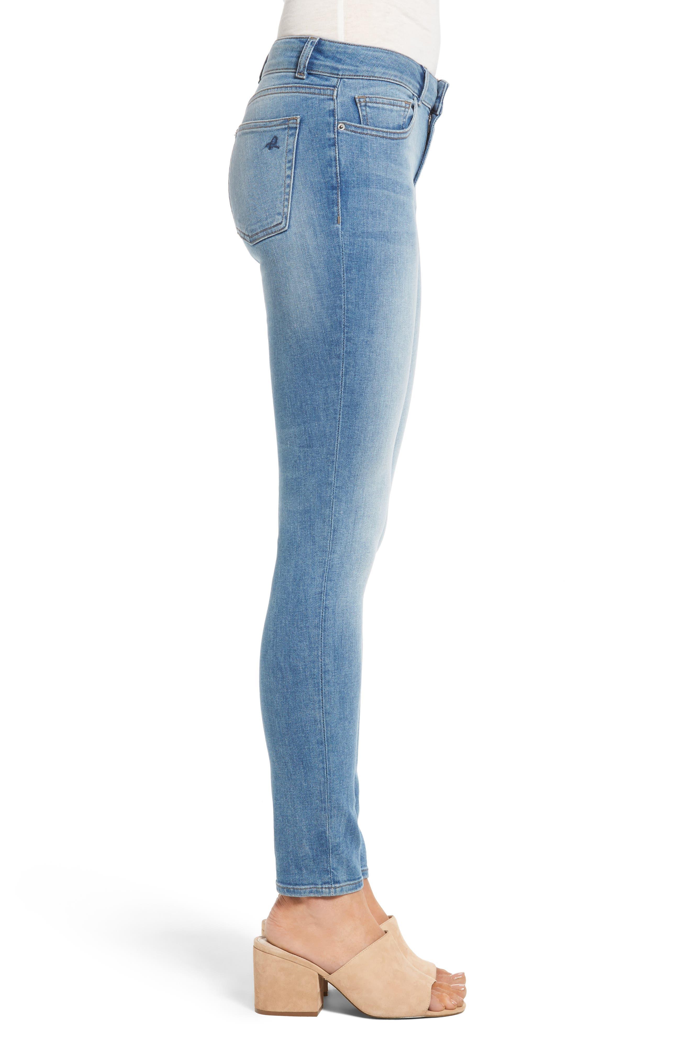 Florence Instasculpt Skinny Jeans,                             Alternate thumbnail 3, color,                             430