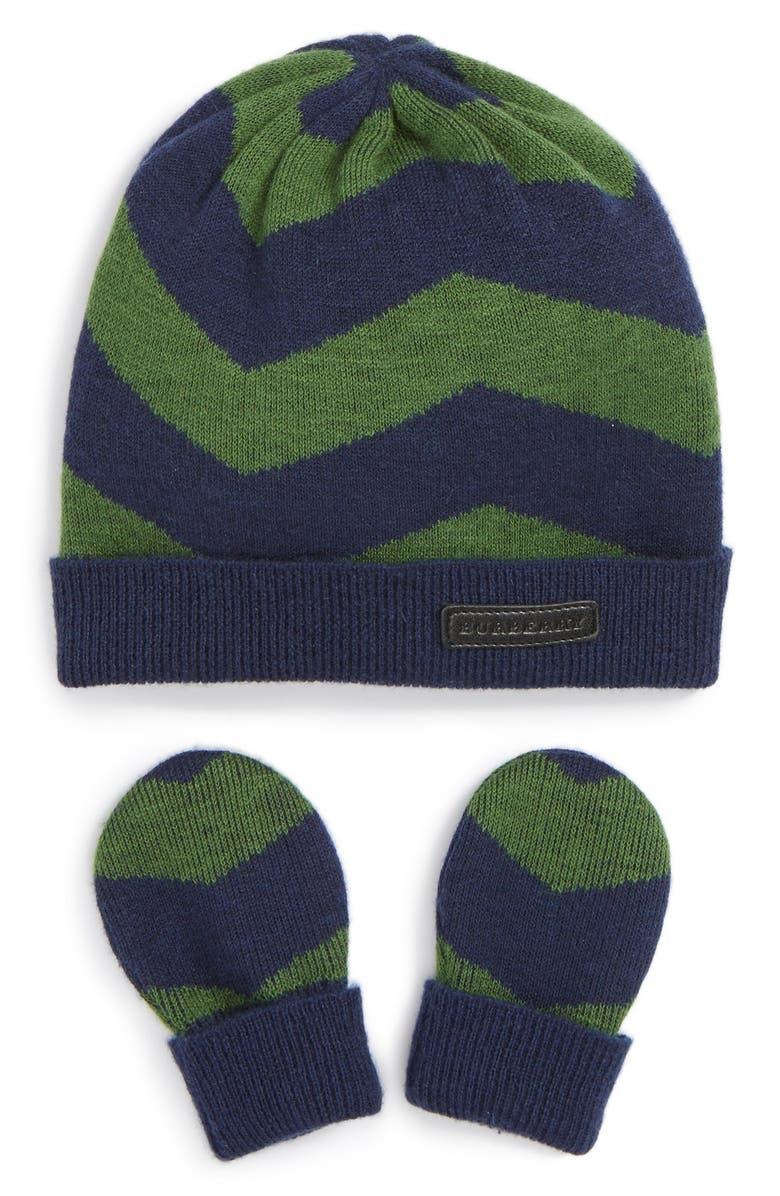 7ada1358119 Burberry  Callena  Cashmere Hat   Mittens Set (Baby Girls)