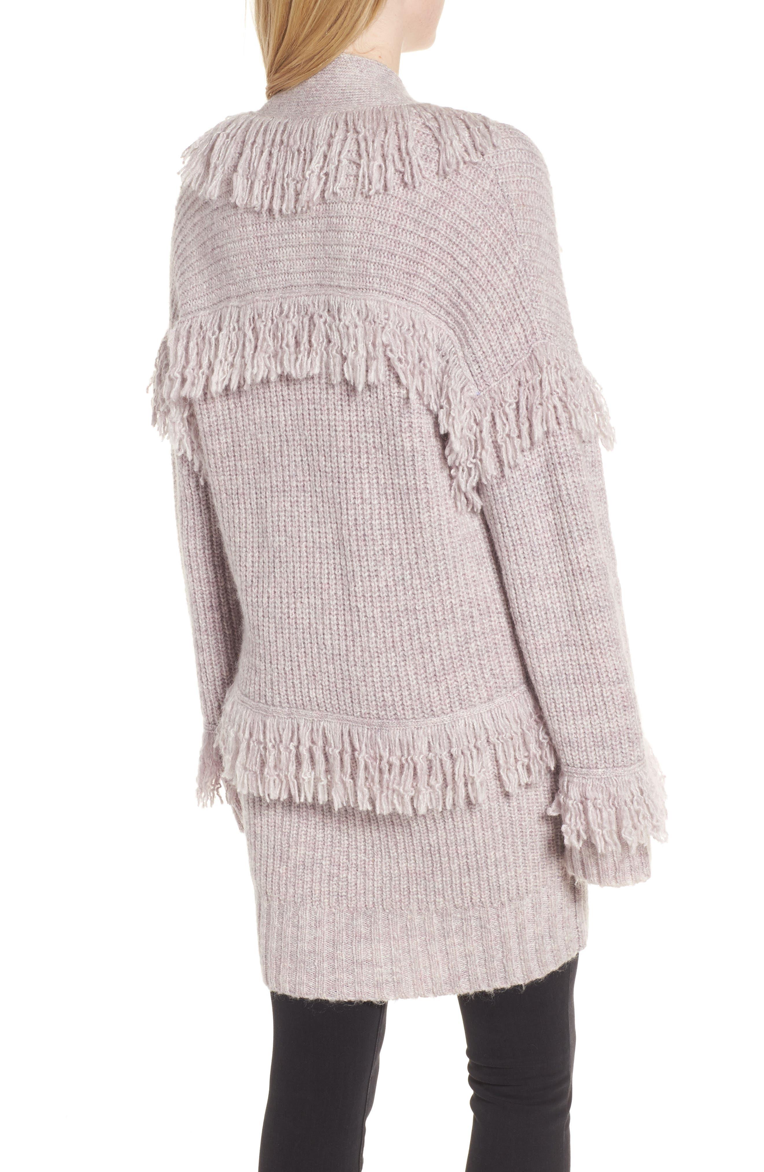 Berea Fringe Cardigan Sweater,                             Alternate thumbnail 2, color,                             684