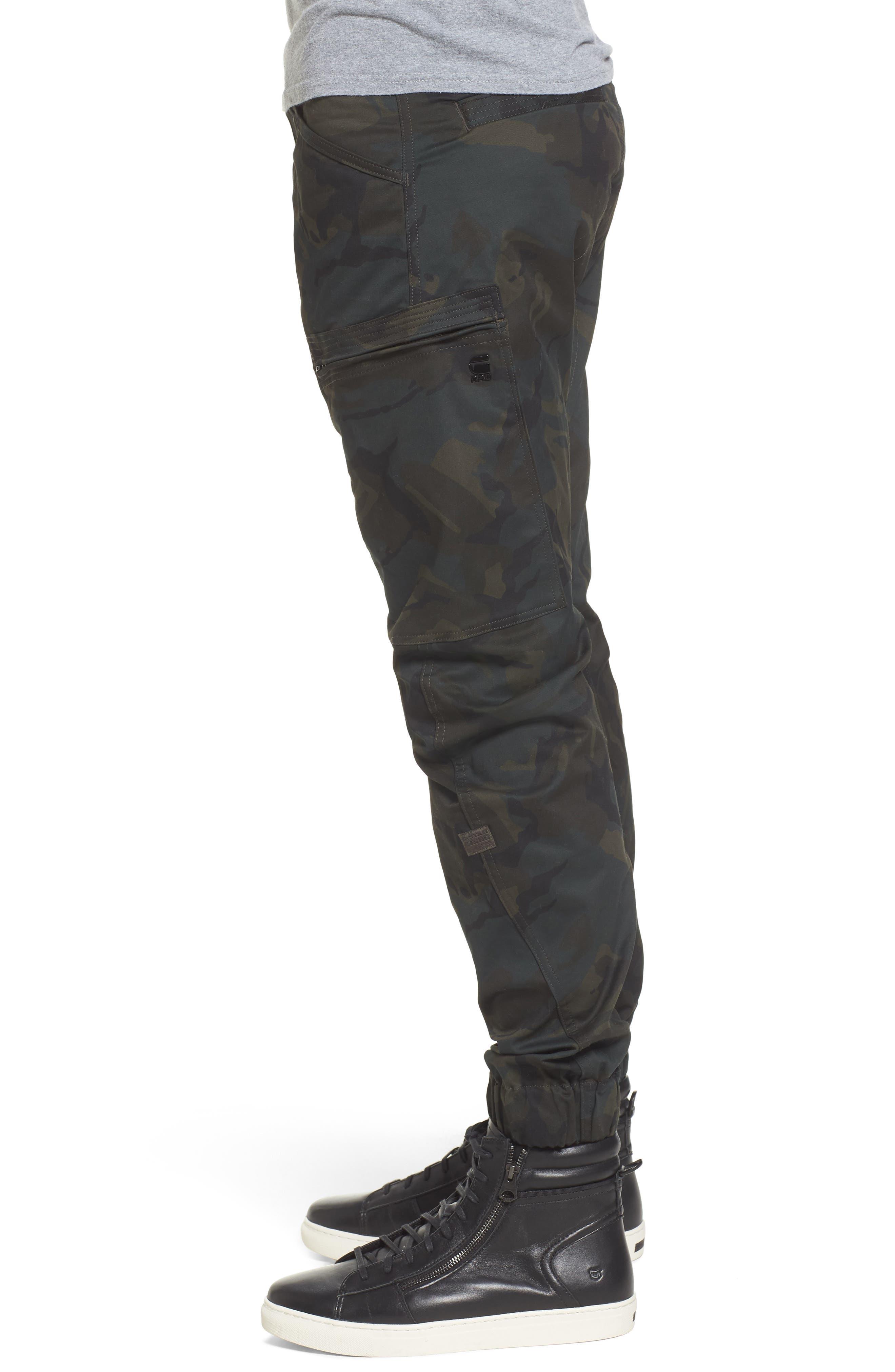 Powel 3D Tapered Jogger Pants,                             Alternate thumbnail 3, color,                             020