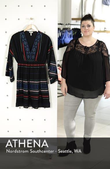Sada Embroidered Minidress, sales video thumbnail