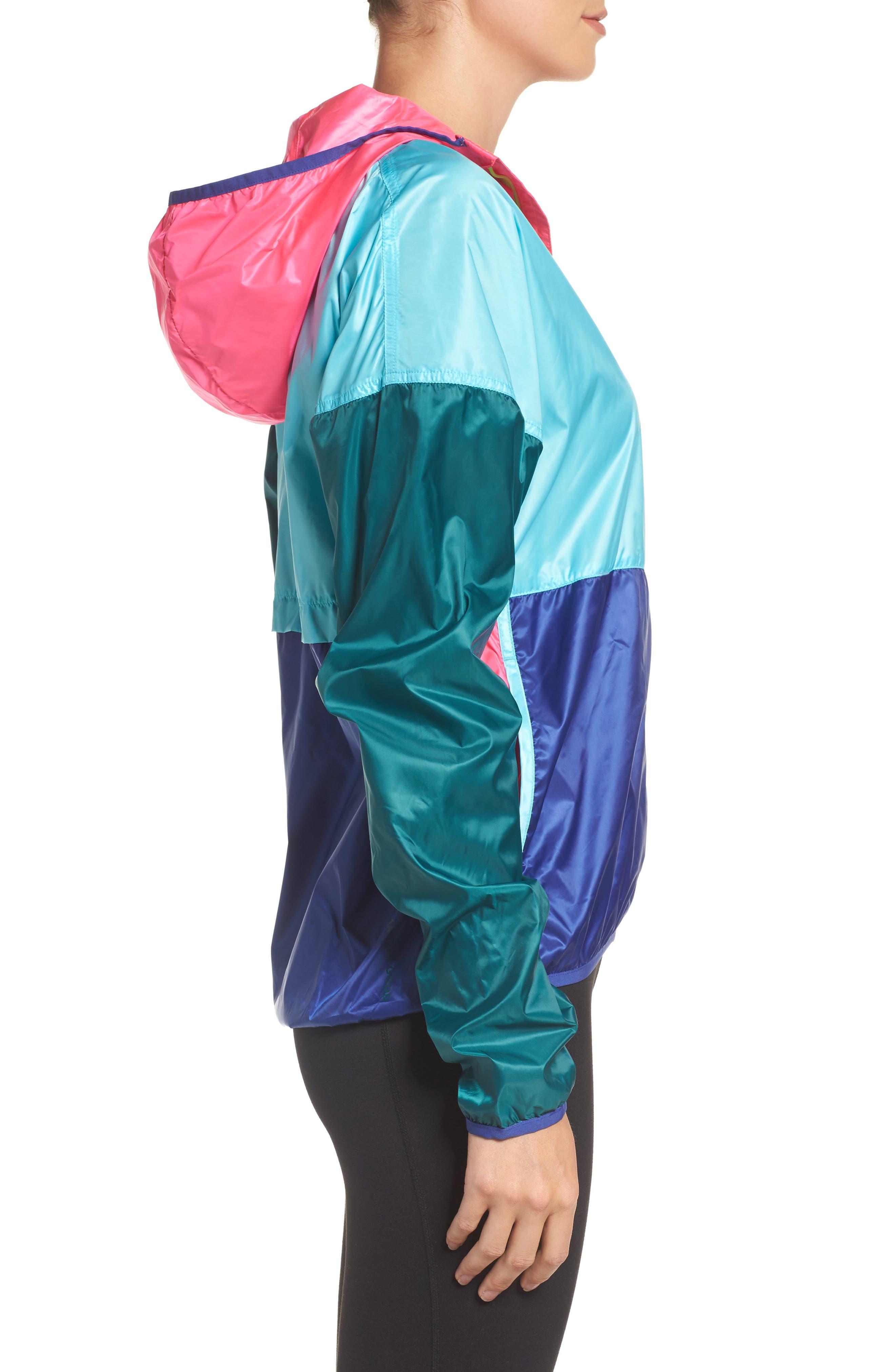 Teca Packable Water Resistant Windbreaker Jacket,                             Alternate thumbnail 19, color,