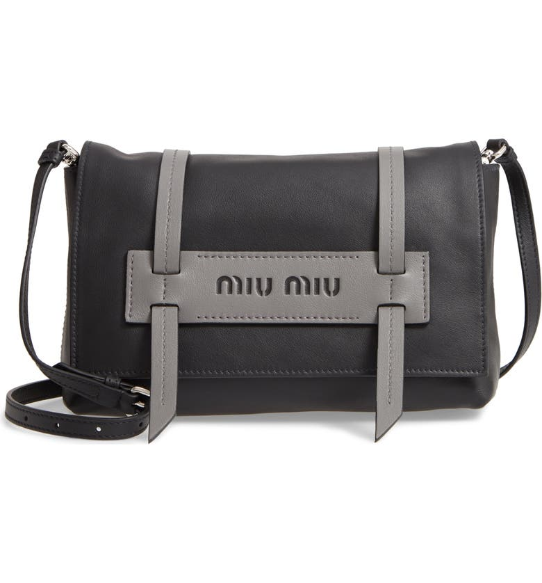 Miu Miu Small Grace Calfskin Shoulder Bag  493fd332c4bcf