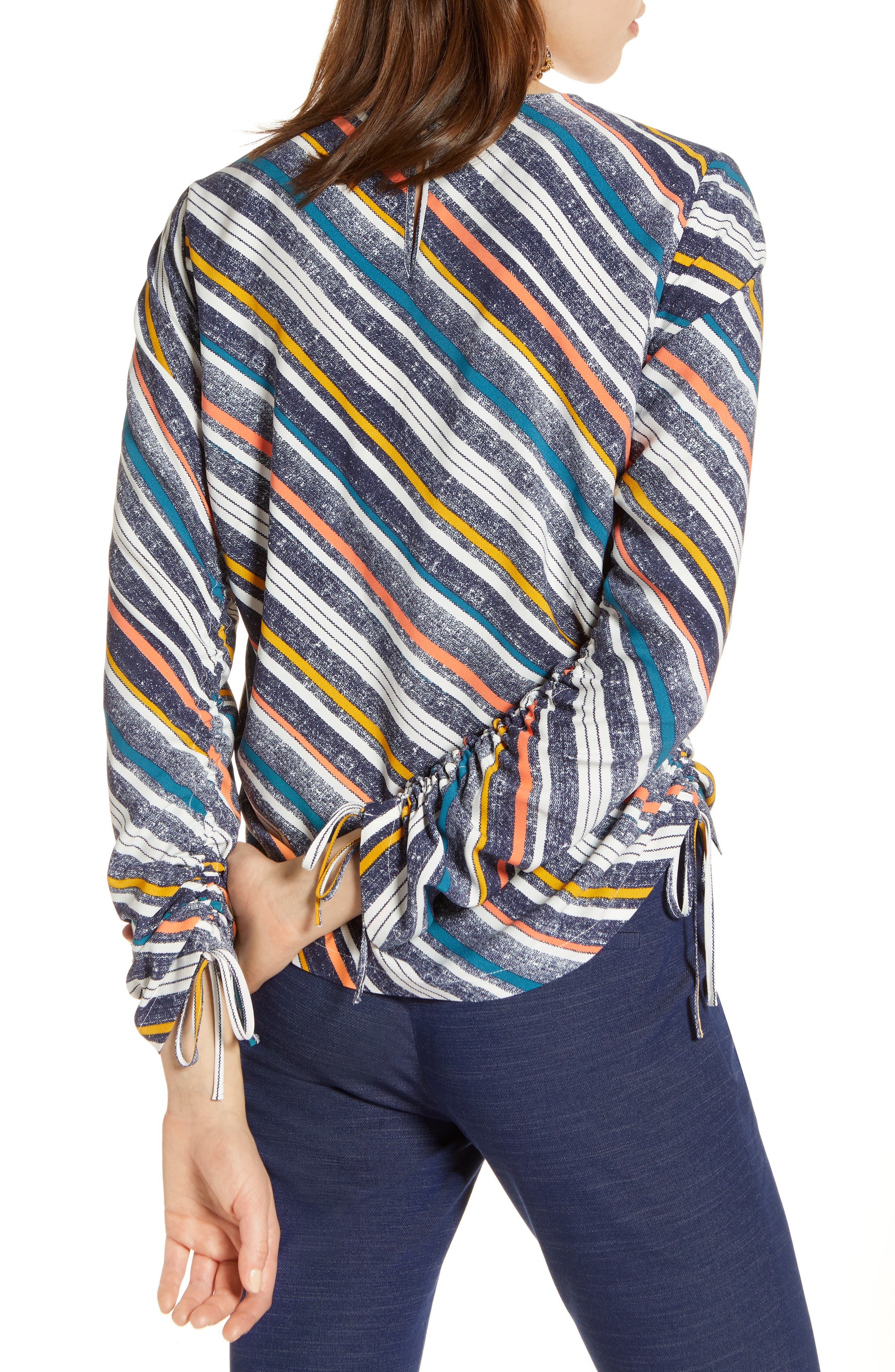 Cinched Sleeve Blouse,                             Alternate thumbnail 2, color,                             410