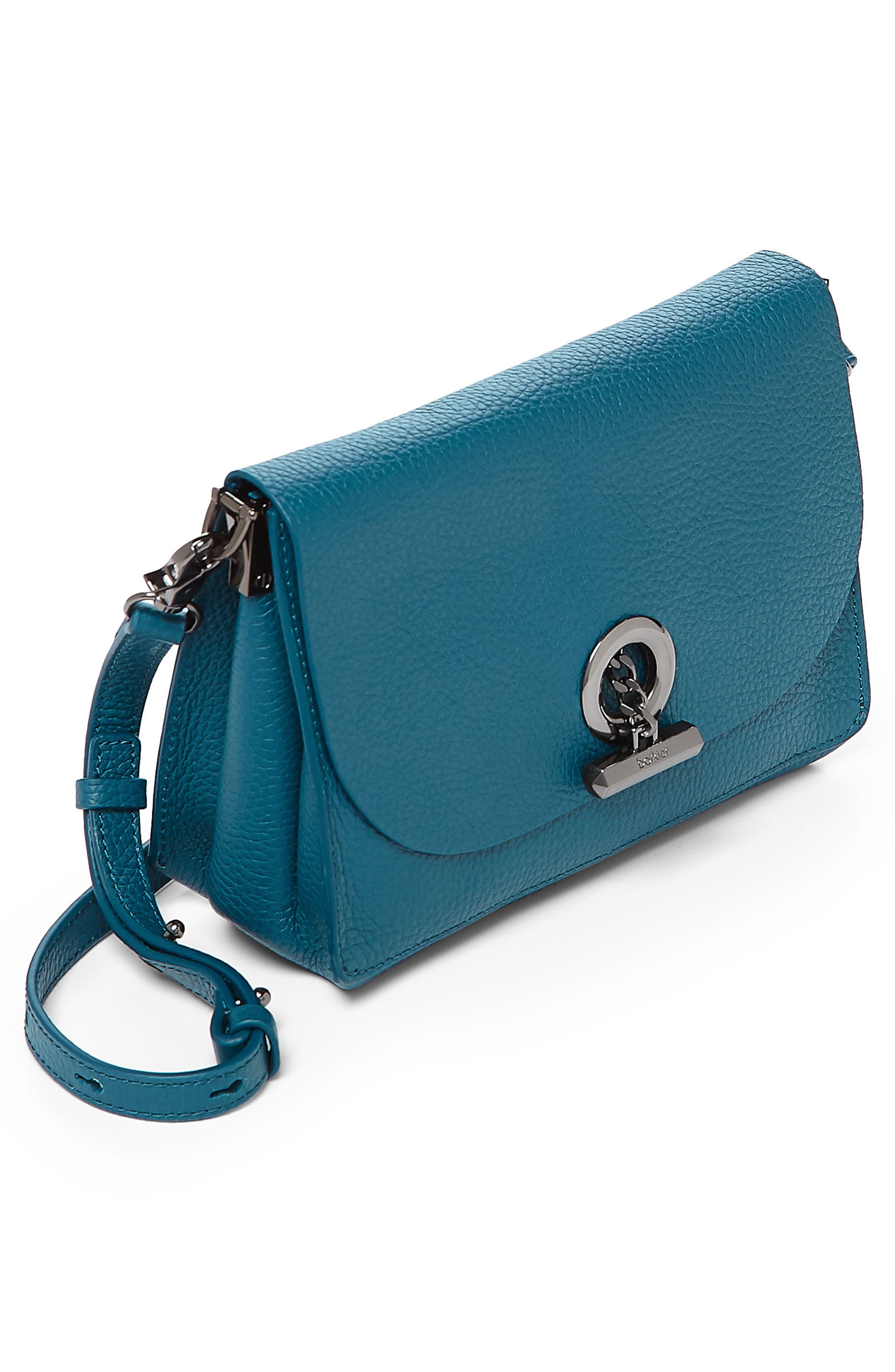 Waverly Leather Crossbody Bag,                             Alternate thumbnail 23, color,