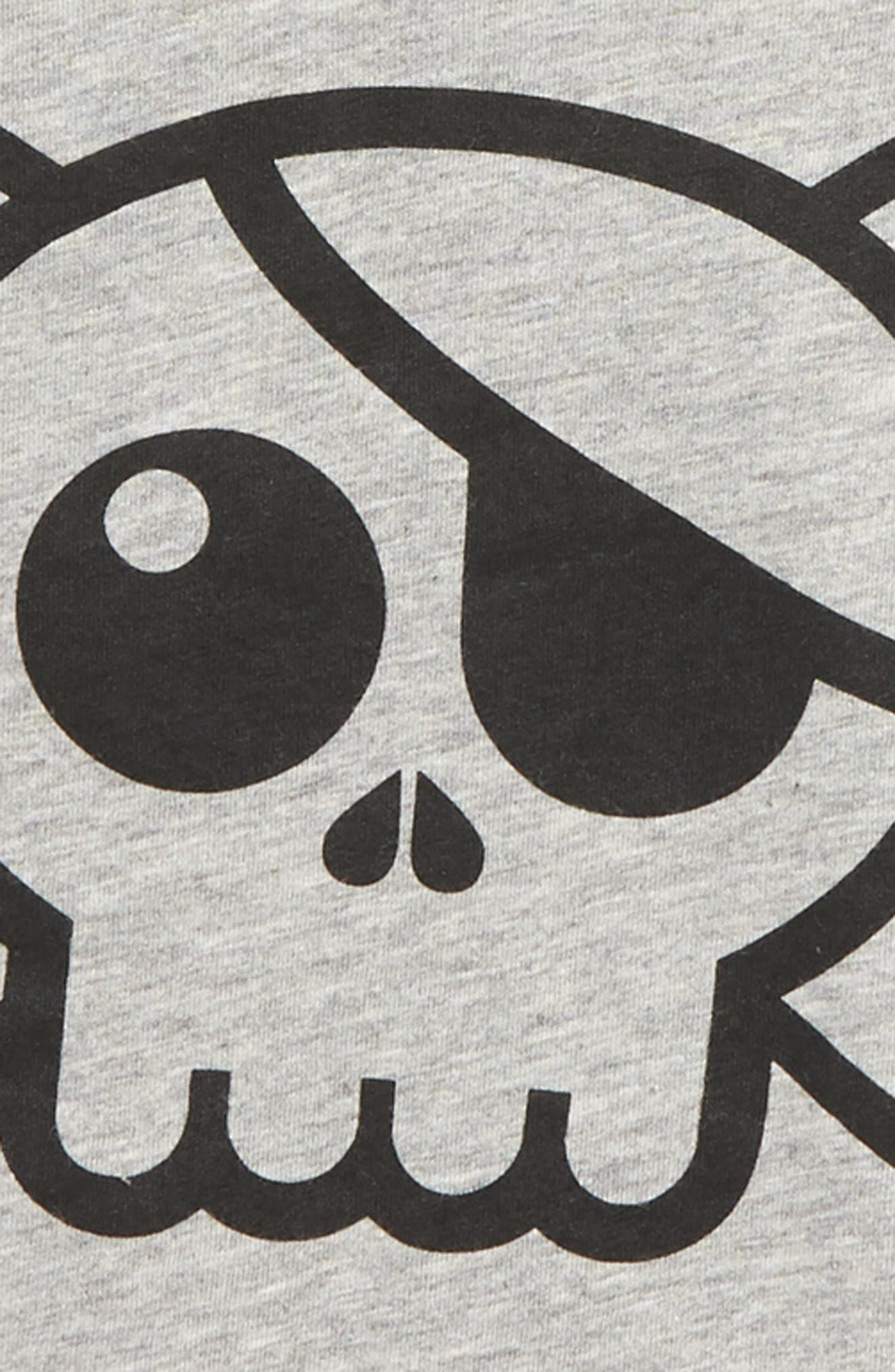 Skull Patch T-Shirt,                             Alternate thumbnail 2, color,                             027