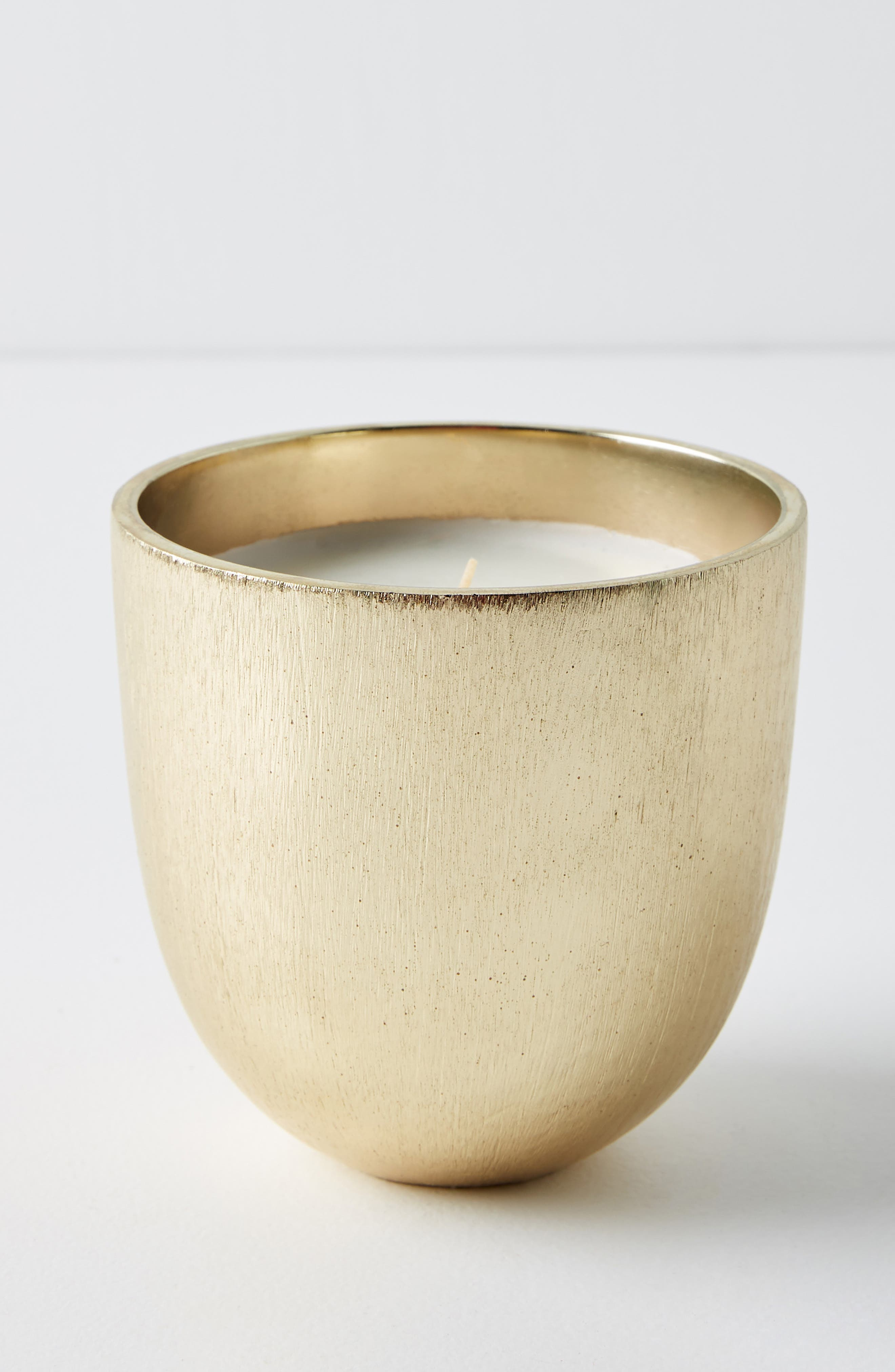 ANTHROPOLOGIE Gilded Rock Oud & Amber Scented Candle, Main, color, OUD/ AMBER