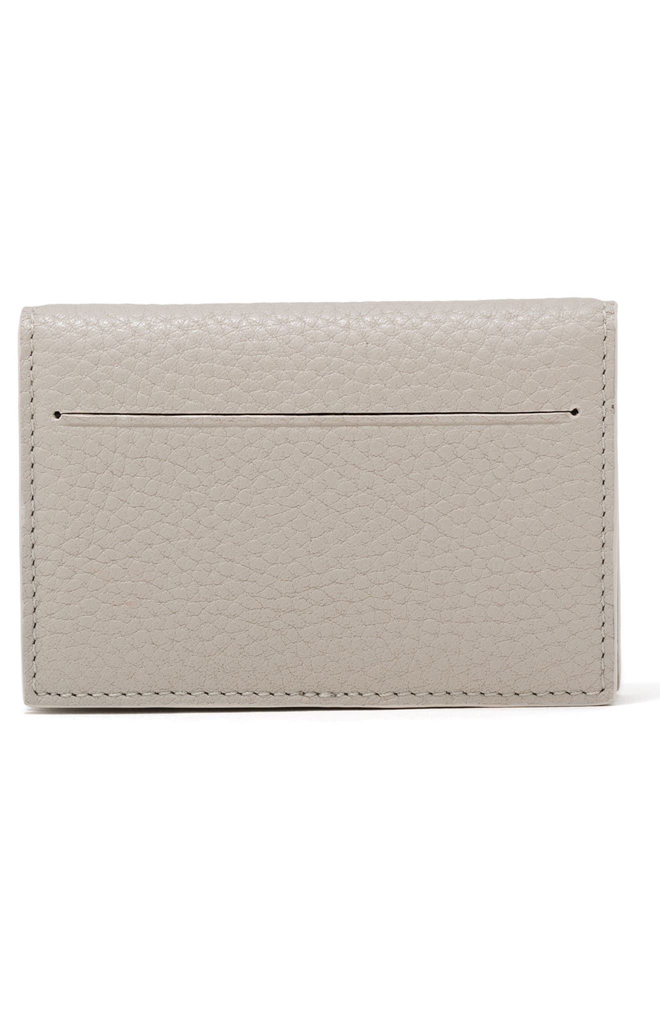Accordion Leather Card Case,                             Alternate thumbnail 14, color,