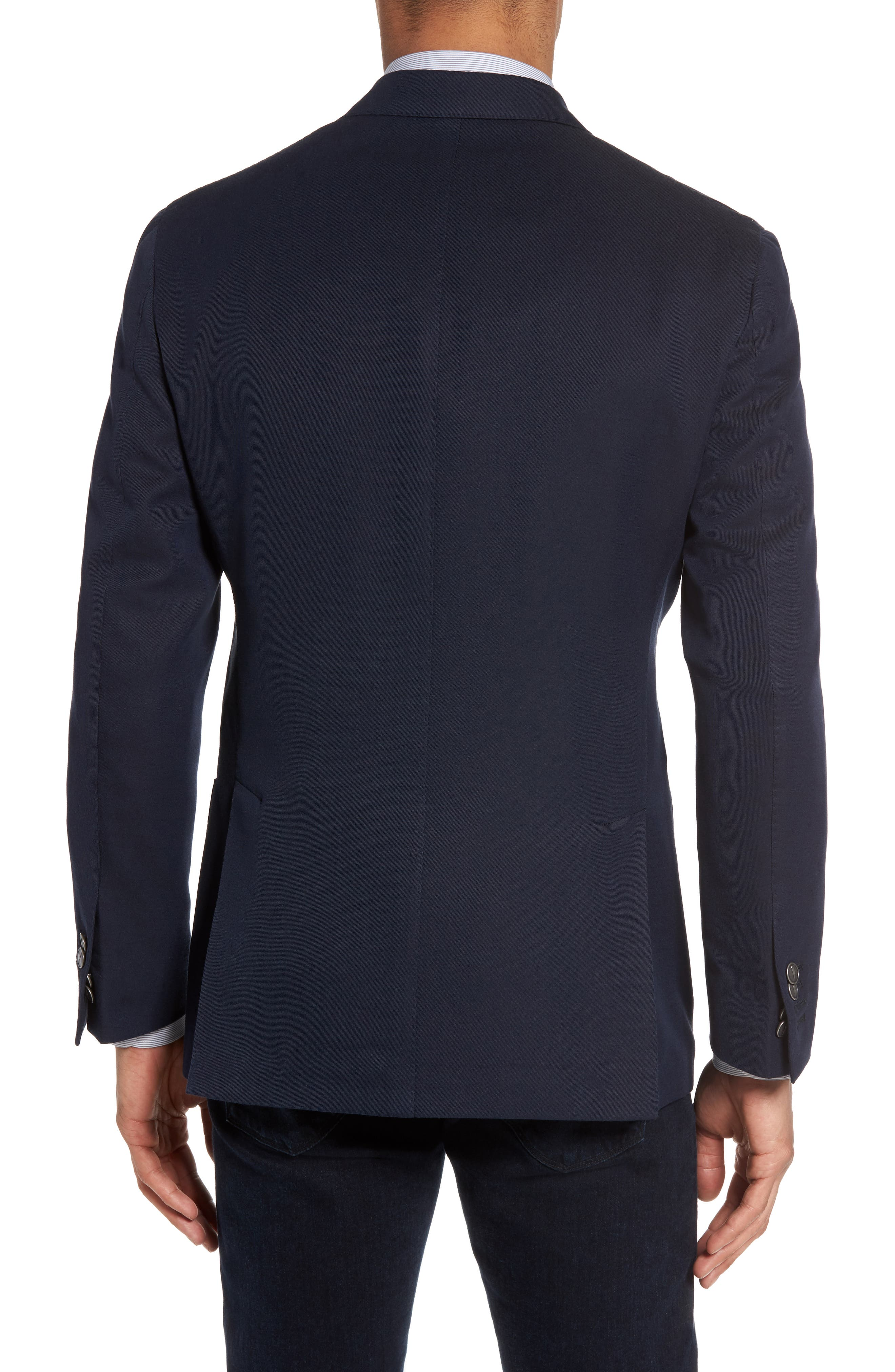 Classic Fit Double Breasted Blazer,                             Alternate thumbnail 2, color,