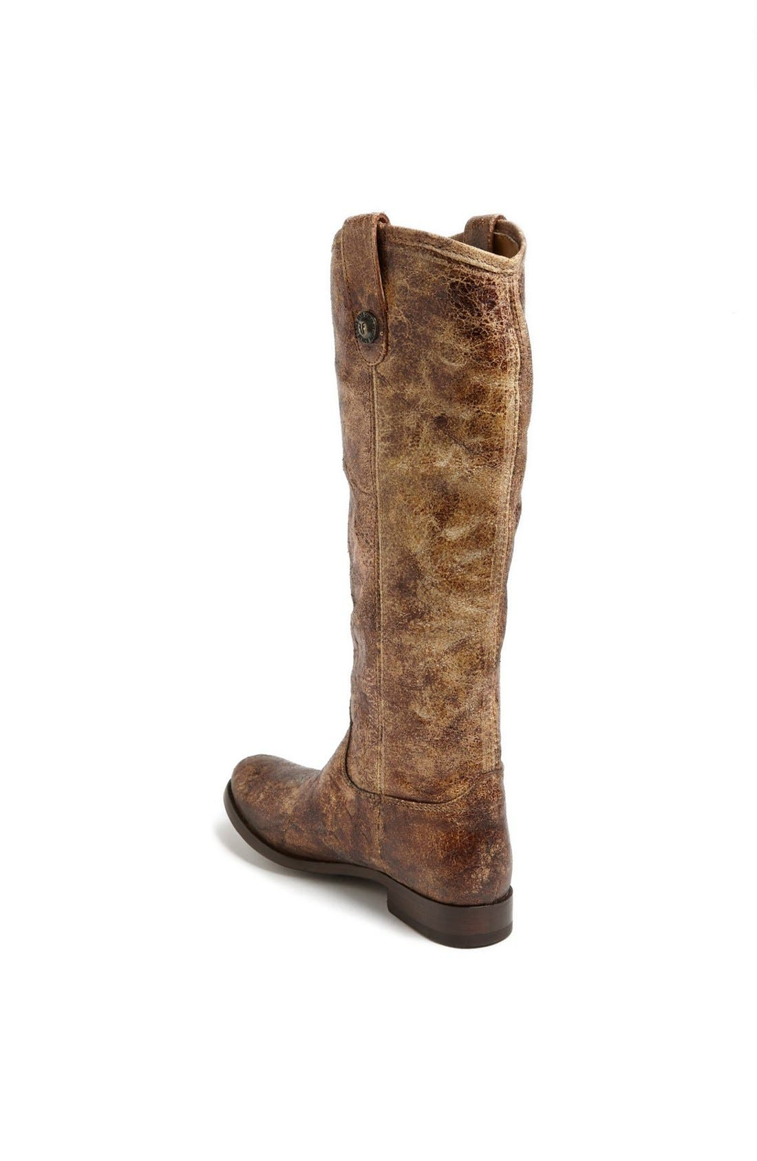 'Melissa Button' Leather Riding Boot,                             Alternate thumbnail 132, color,