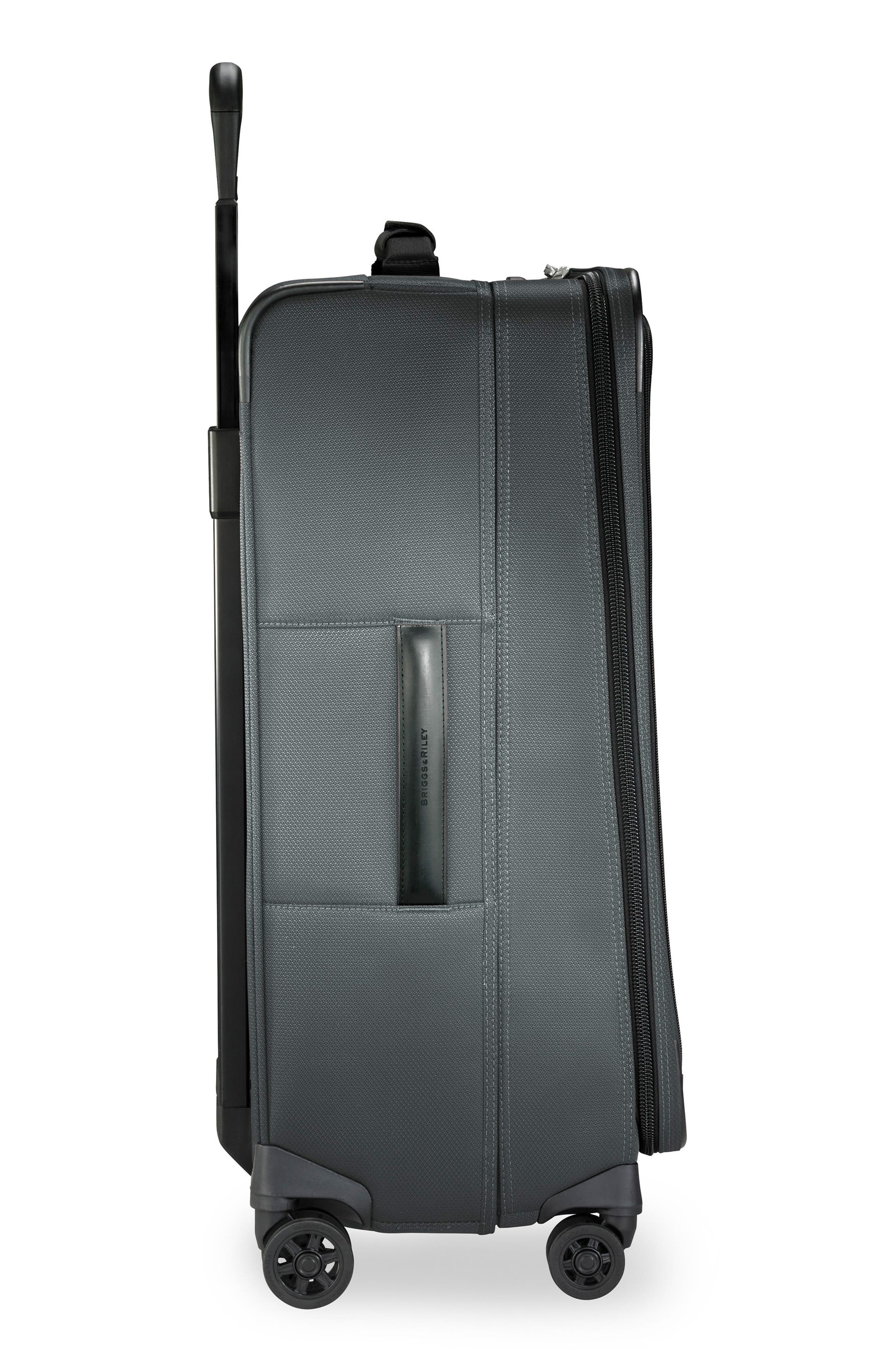 Transcend VX Medium Expandable 26-Inch Spinner Suitcase,                             Alternate thumbnail 3, color,                             SLATE GREY