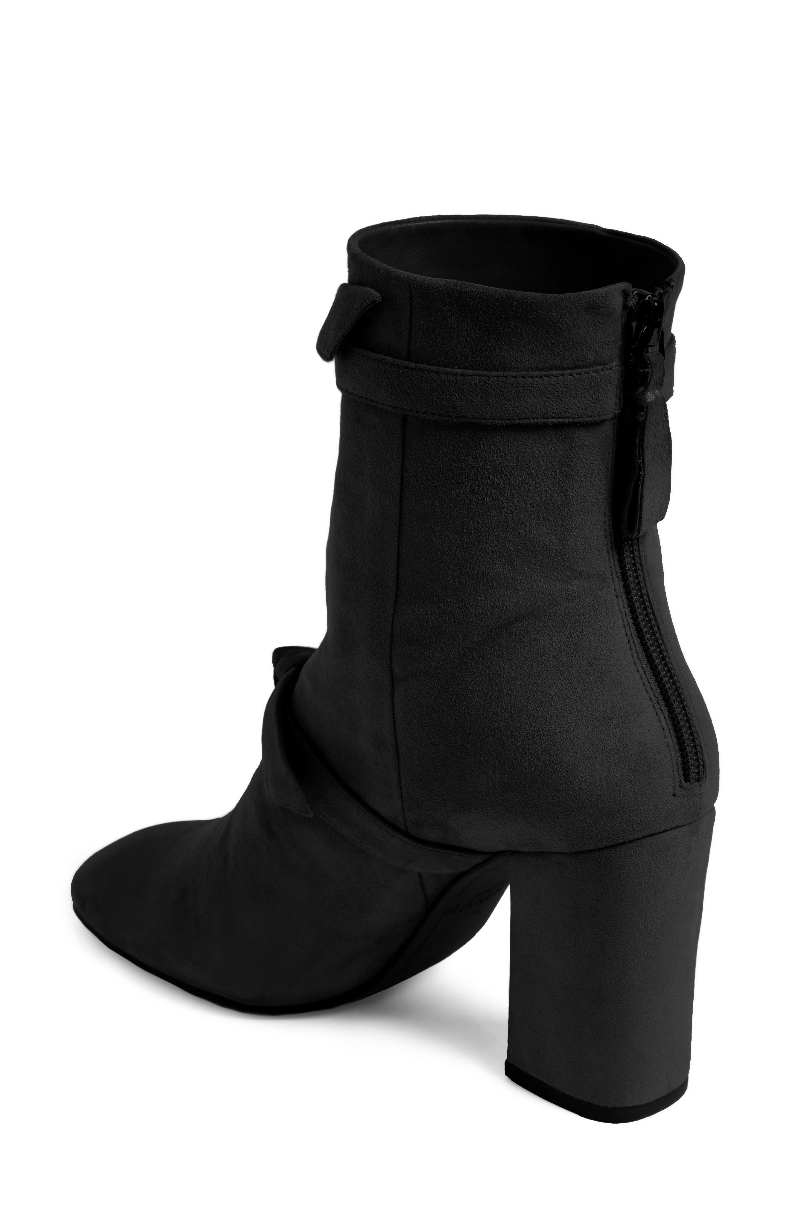 Lorraine Tie Bootie,                             Alternate thumbnail 2, color,                             001