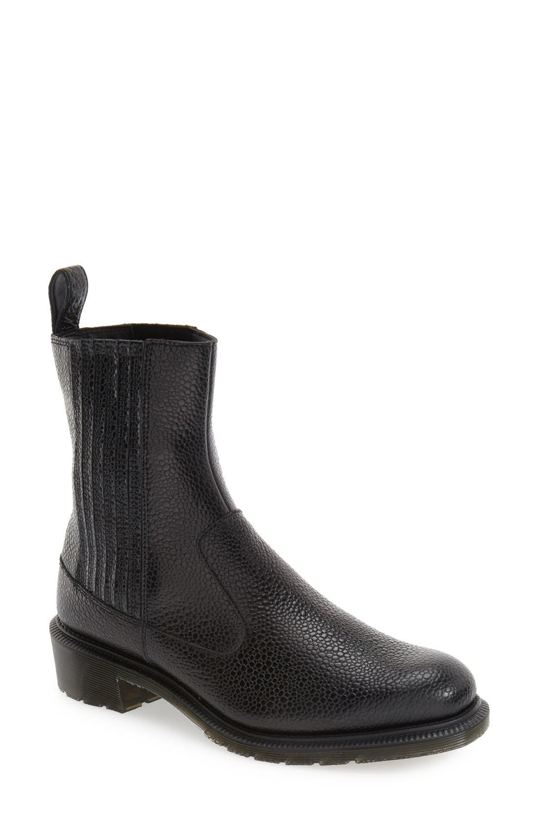 'Eleanore' Chelsea Boot, Main, color, 001