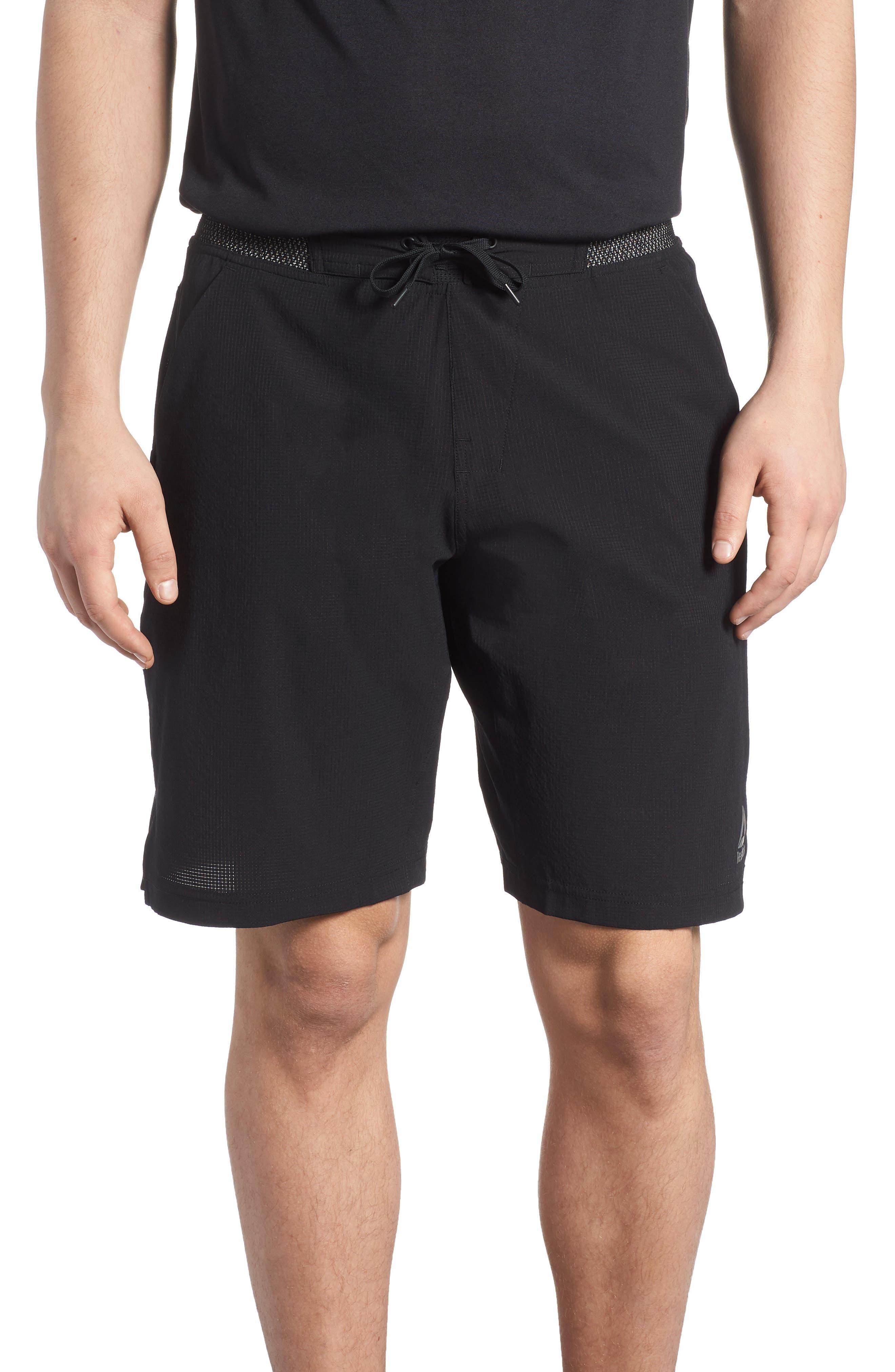 Epic Knit Shorts,                             Main thumbnail 1, color,                             BLACK