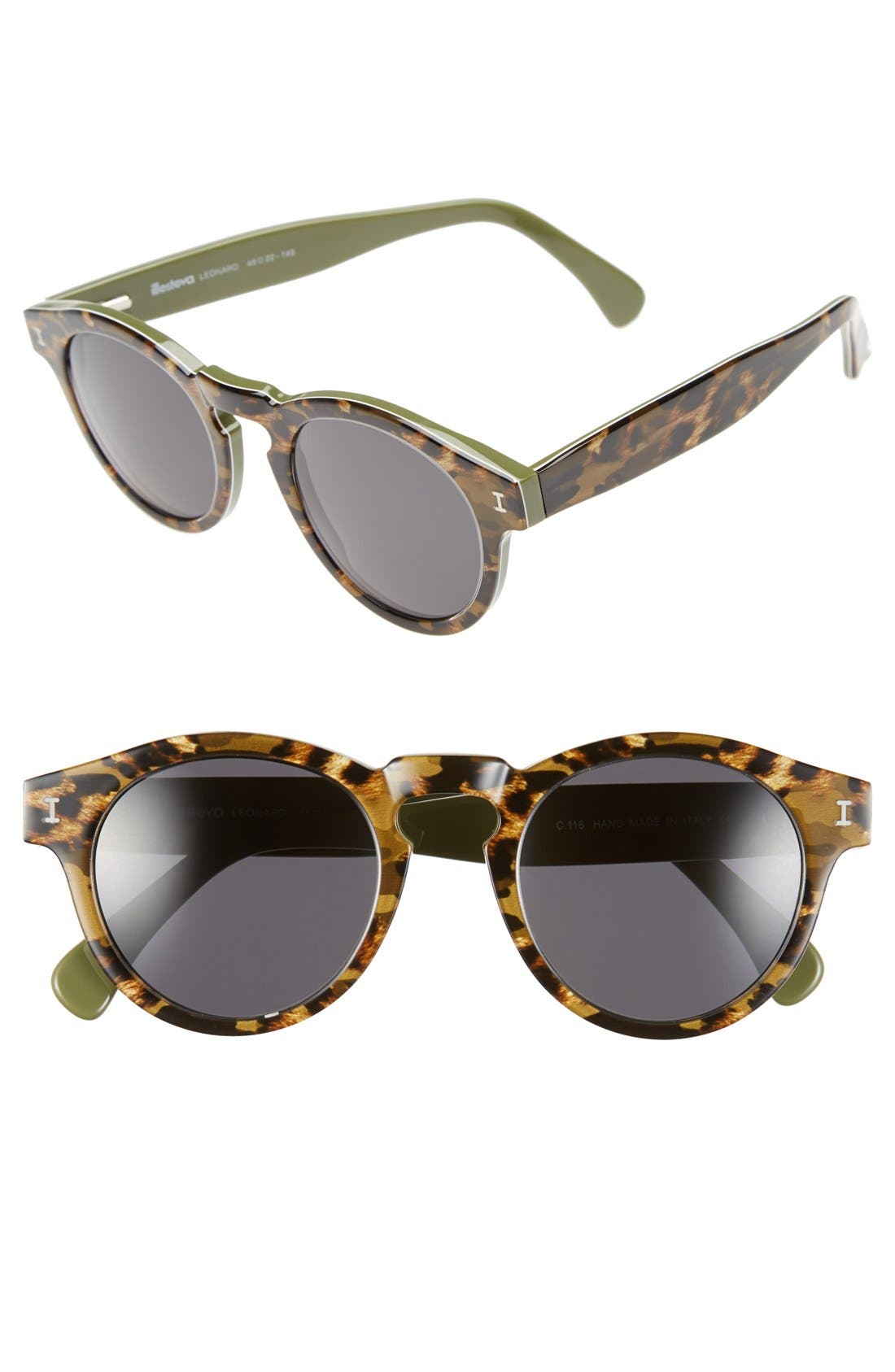 'Leonard' 47mm Sunglasses,                             Main thumbnail 48, color,