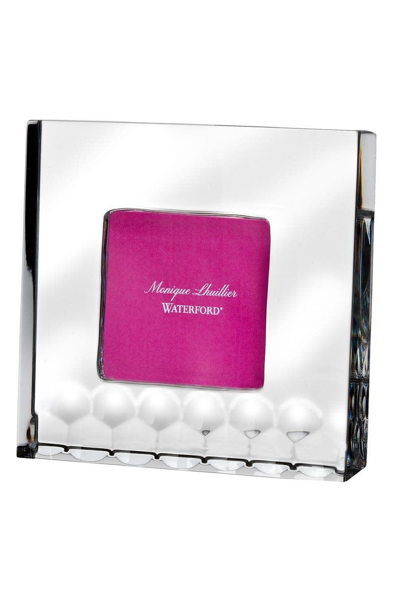 Monique Lhuillier Waterford Atelier Lead Crystal Picture Frame
