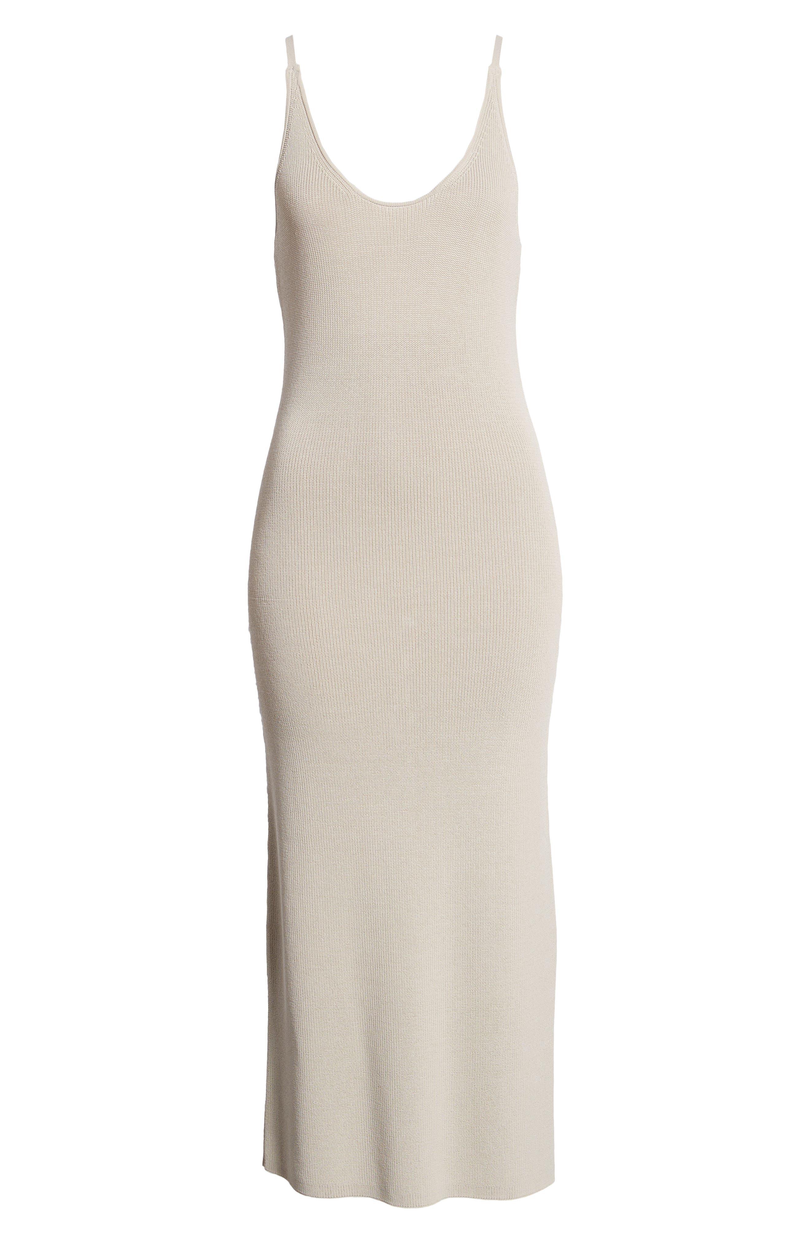Sweater Strap Dress,                             Alternate thumbnail 7, color,                             050