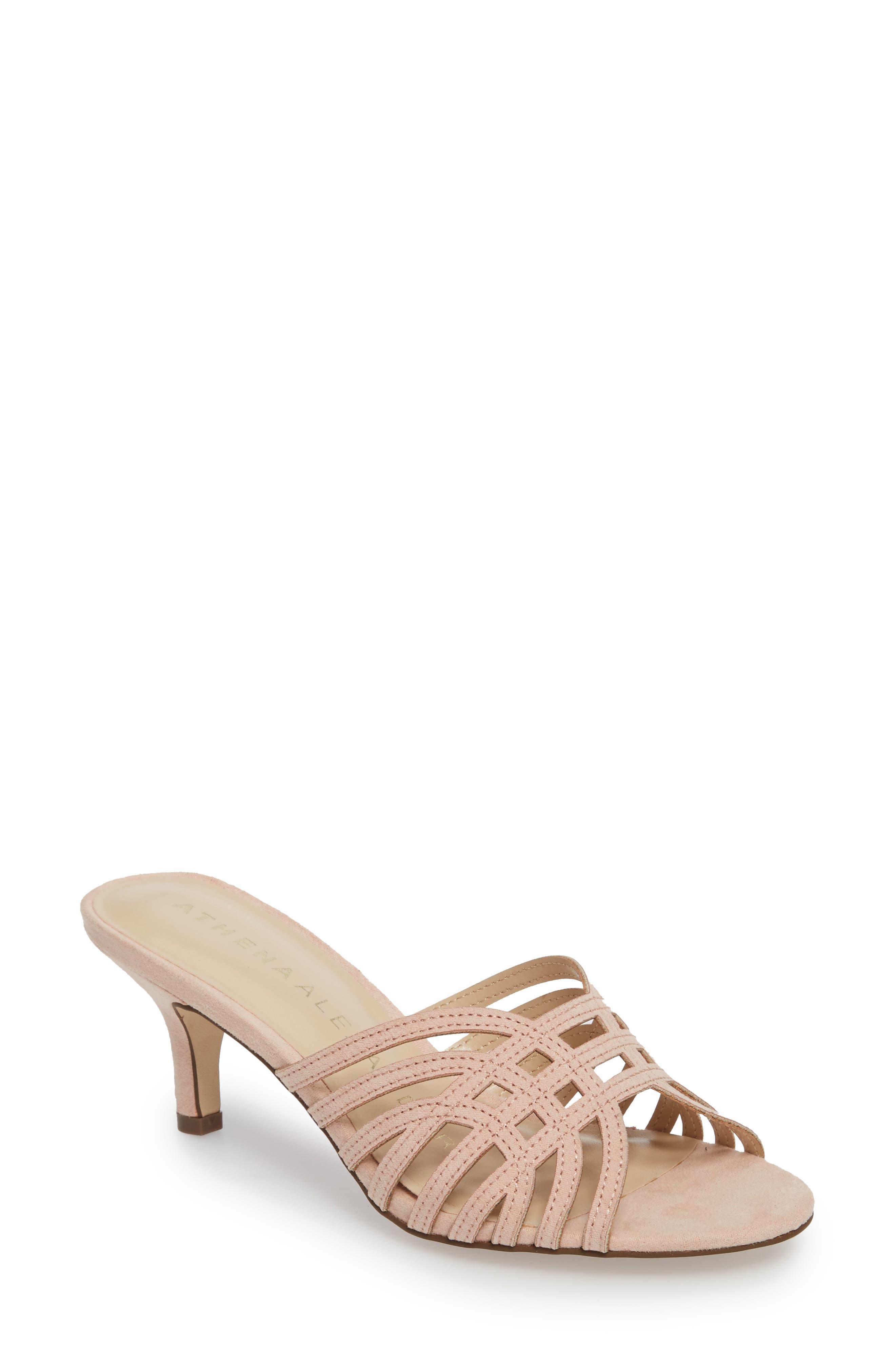 Athena Alexander Cece Cutout Sandal- Pink
