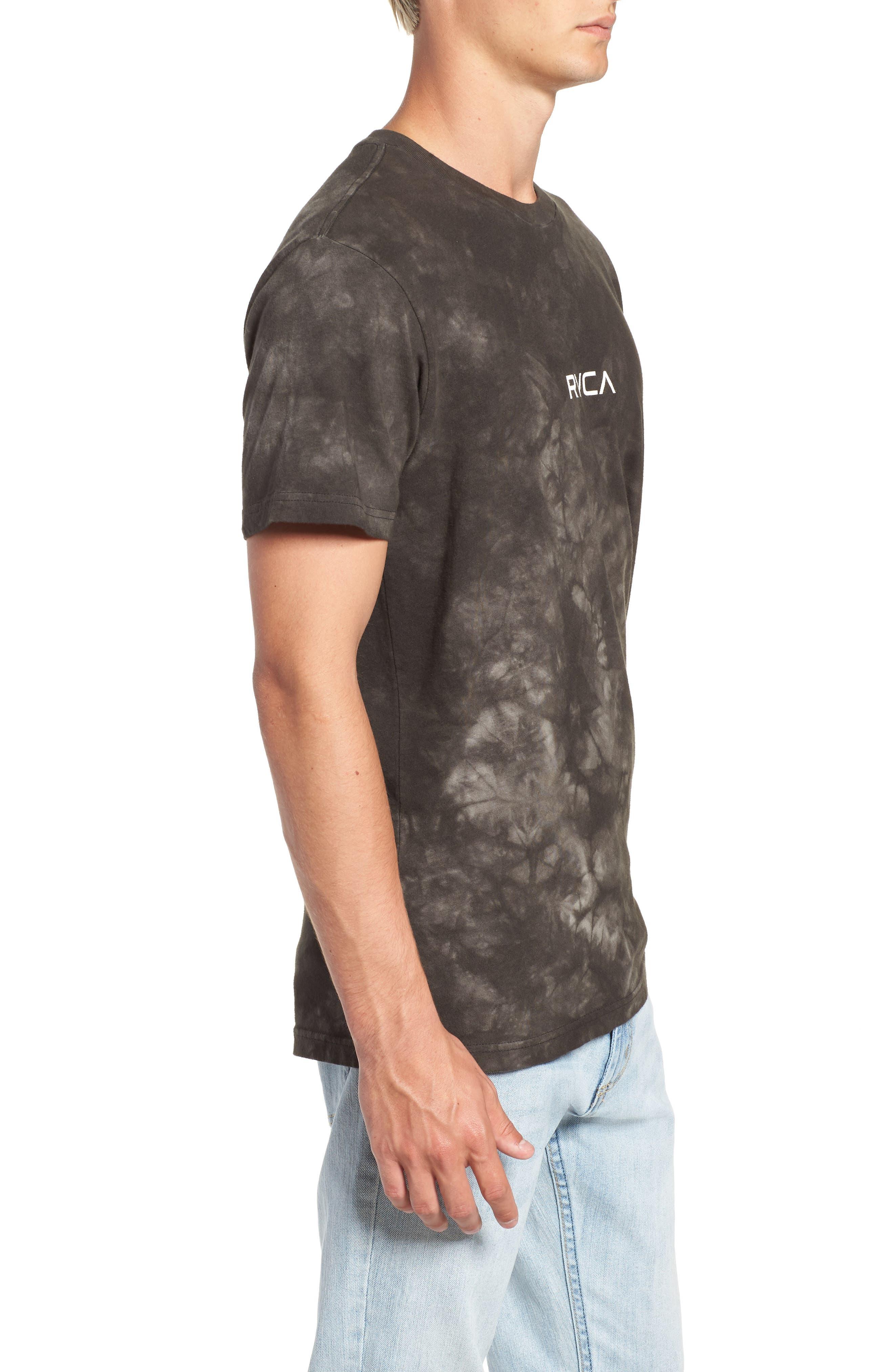 Center Graphic T-Shirt,                             Alternate thumbnail 3, color,                             PIRATE BLACK