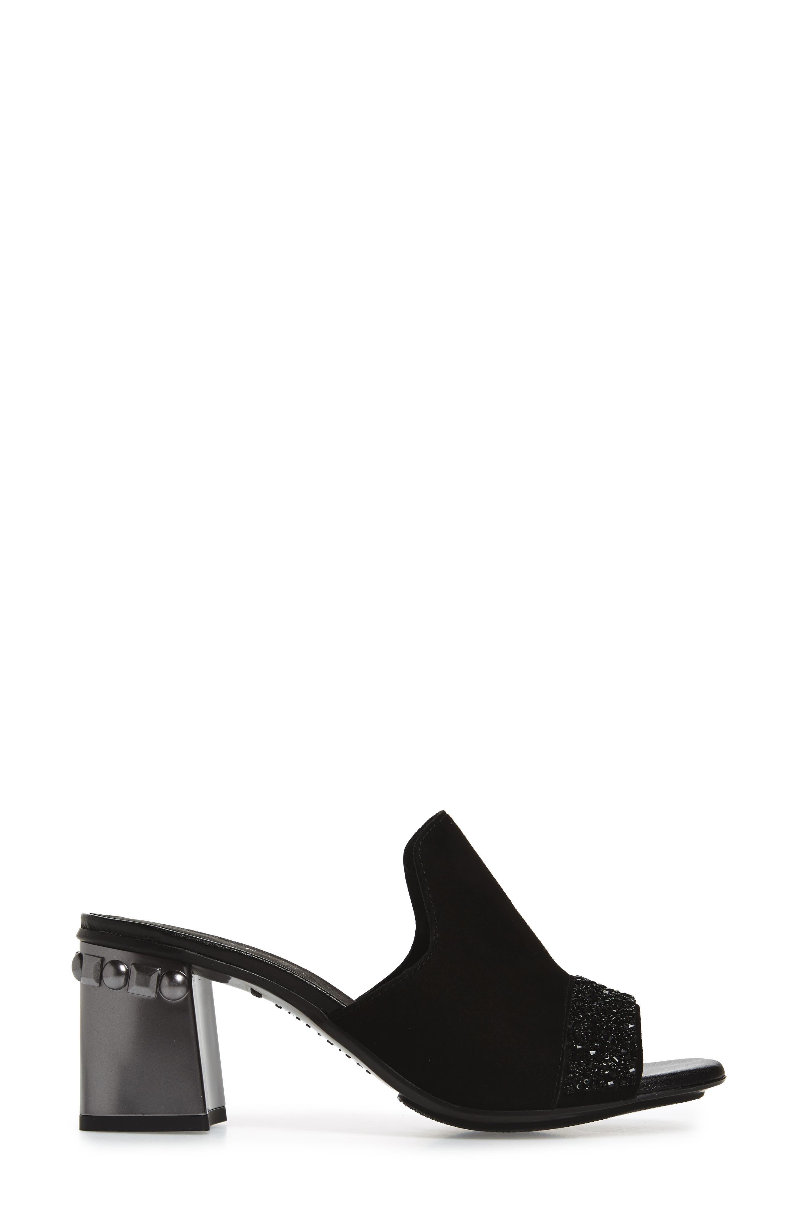 Stormie Slide Sandal,                             Alternate thumbnail 3, color,                             001