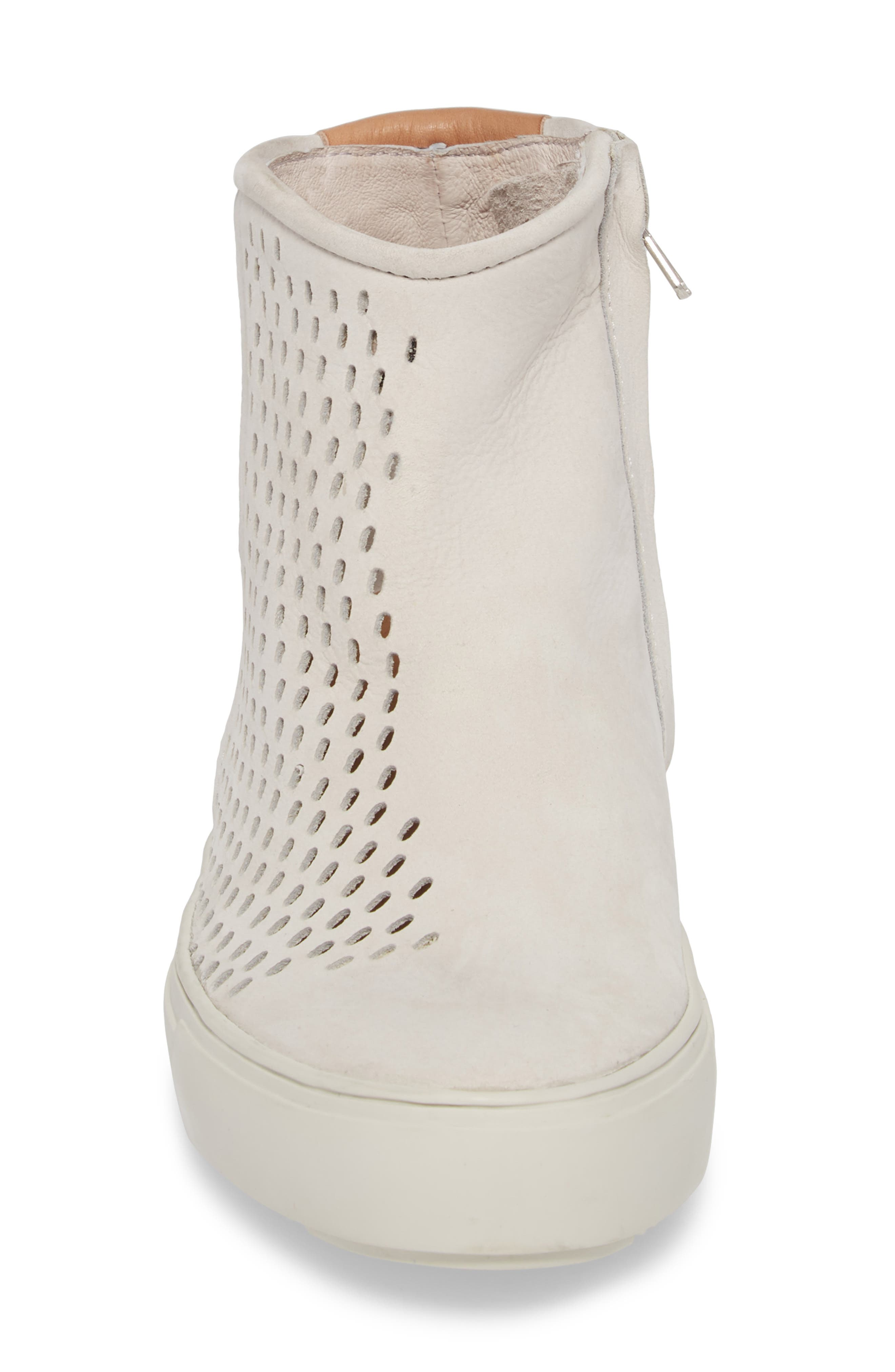 PL89 Zip Bootie,                             Alternate thumbnail 4, color,                             WIND CHIME LEATHER