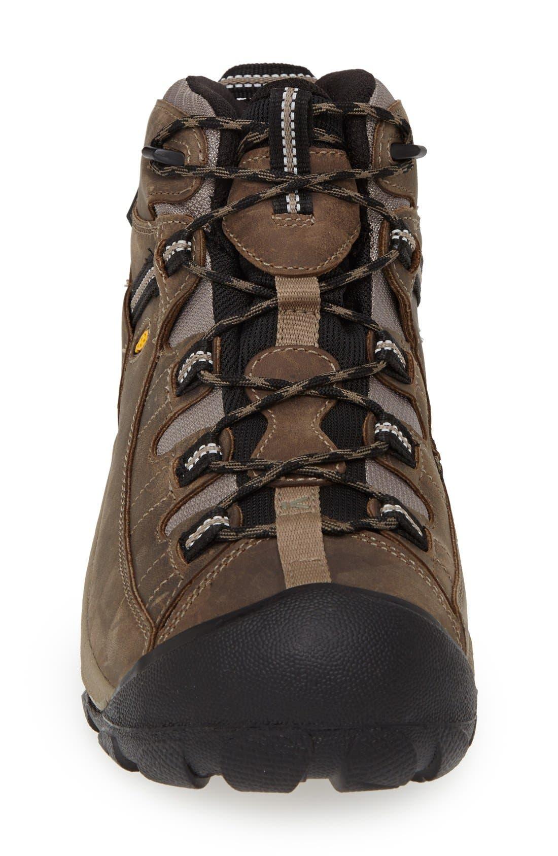 Targhee II Mid Hiking Waterproof Boot,                             Alternate thumbnail 3, color,                             SHITAKE/ BRINDLE