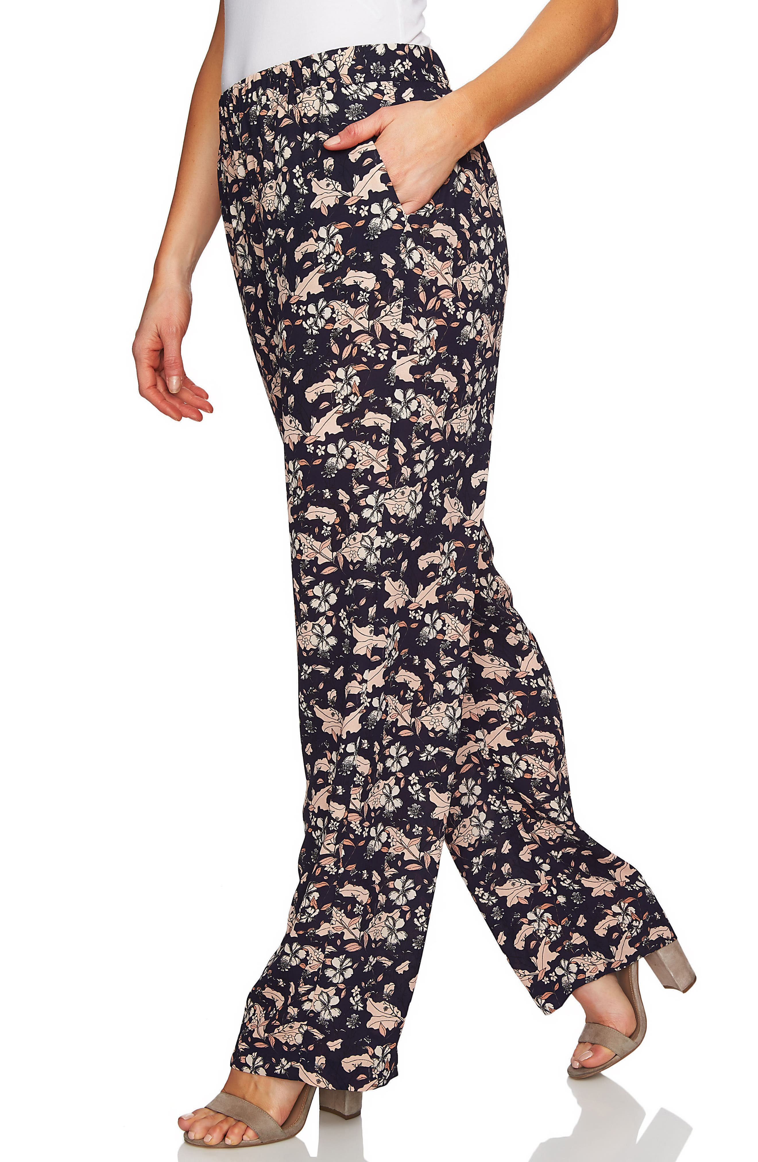 Ivy Forest Soft Wide Leg Pants,                             Alternate thumbnail 3, color,                             COCOA SAND
