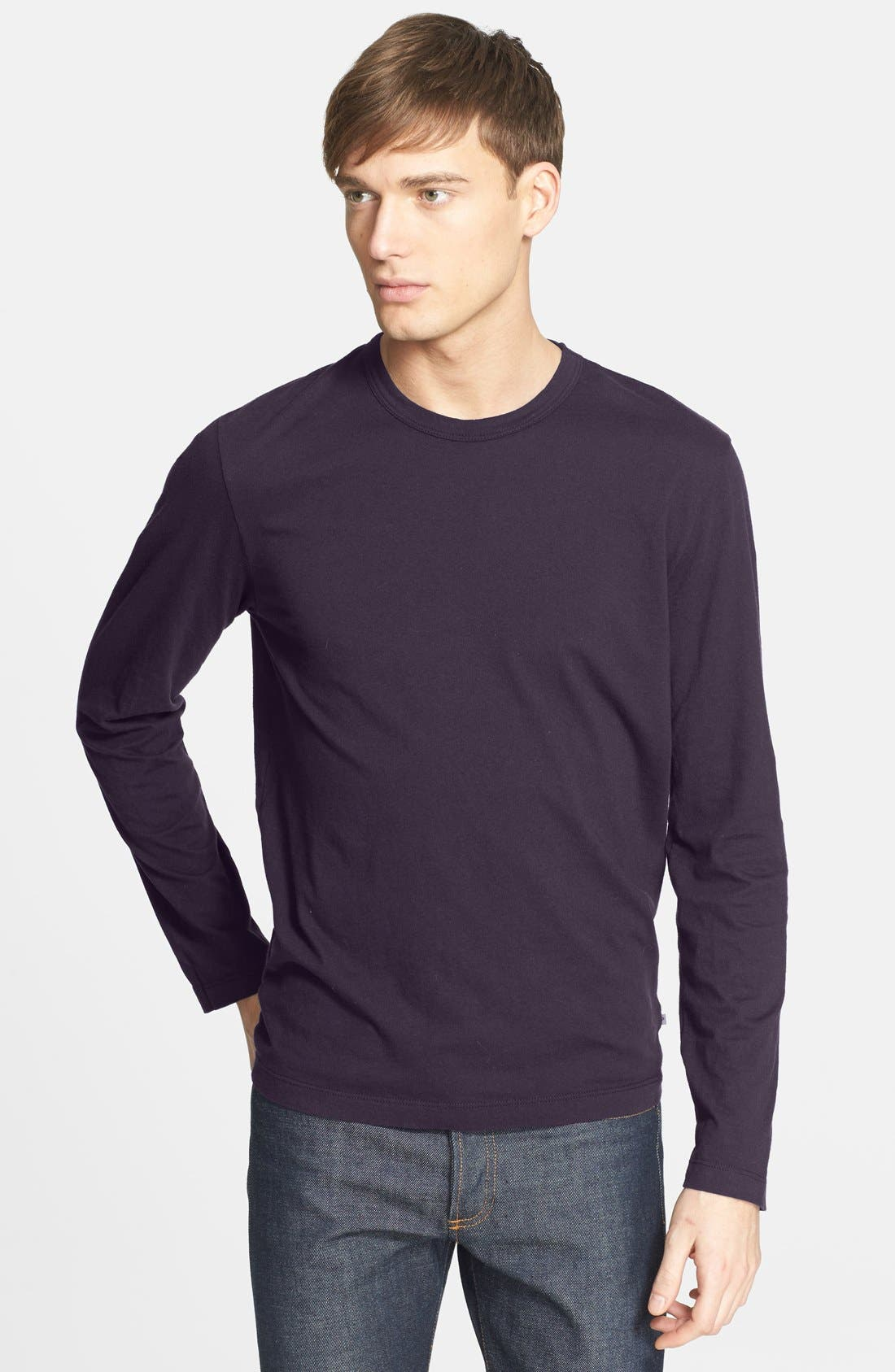 Long Sleeve Crewneck T-Shirt,                             Main thumbnail 30, color,