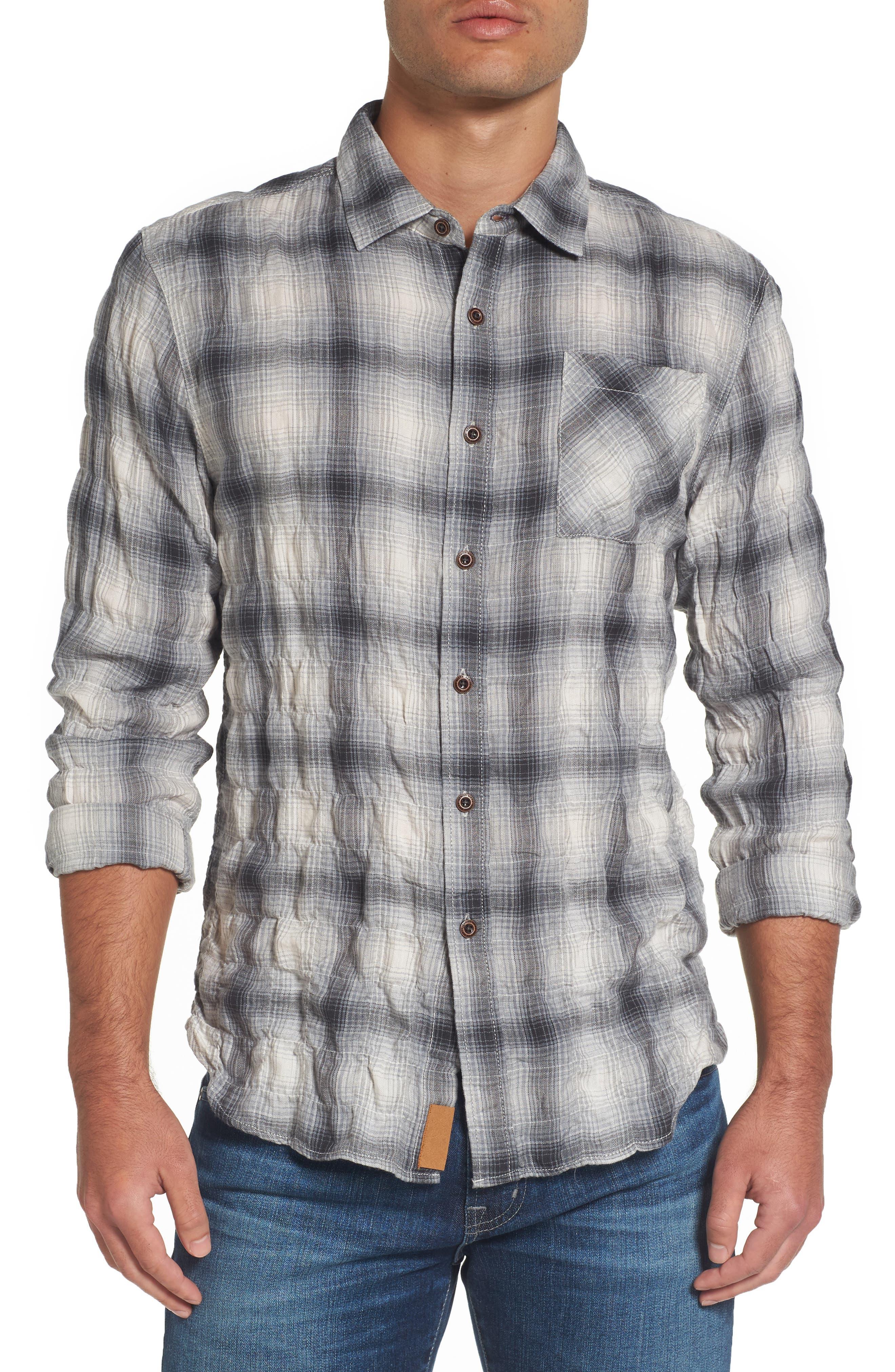 Truman Plaid Sport Shirt,                         Main,                         color, 020