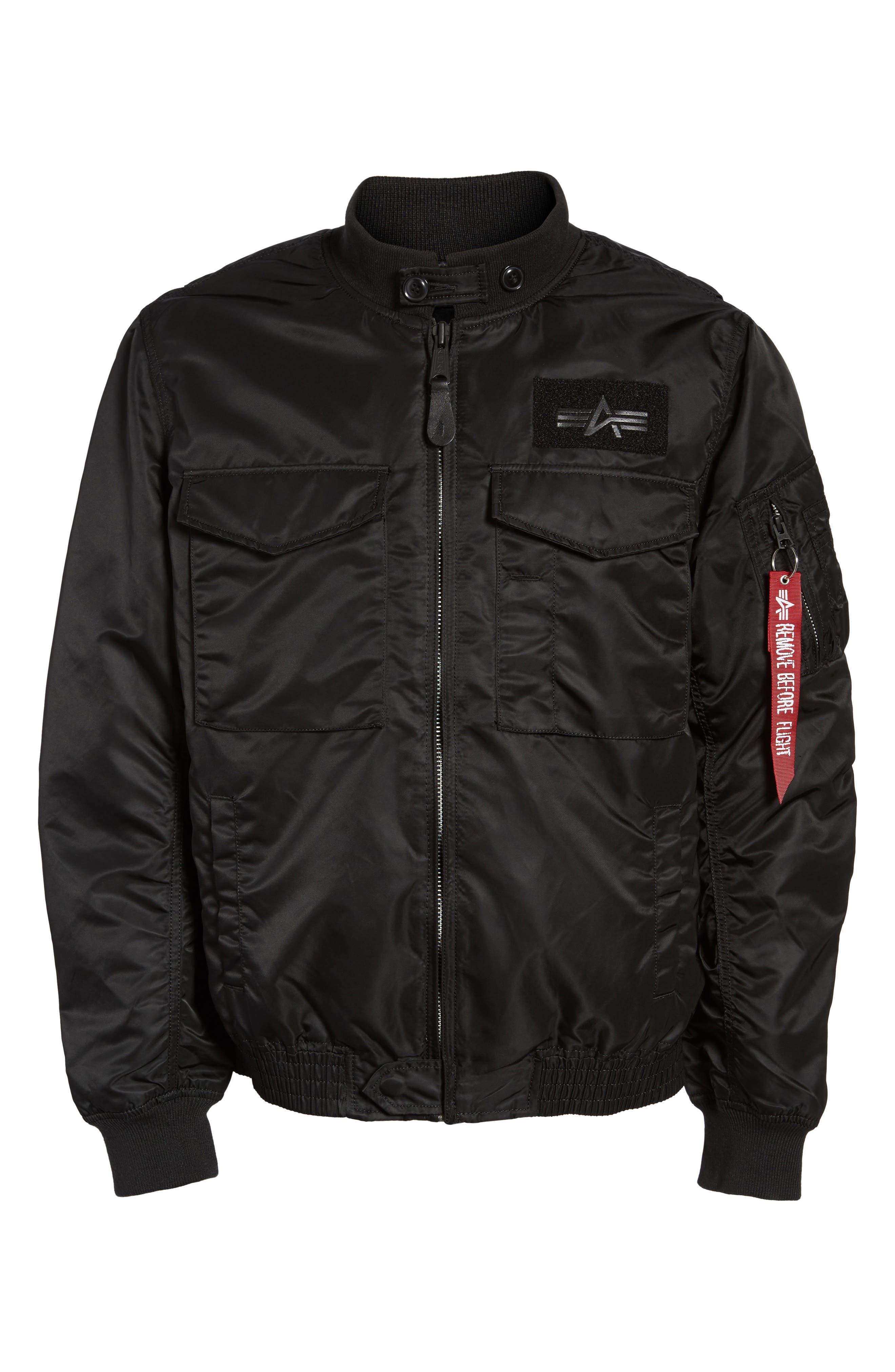 Weps Mod Jacket,                             Alternate thumbnail 5, color,                             001