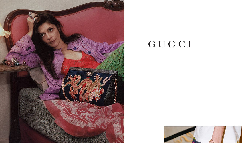 Gucci resort 2018 designer collection.