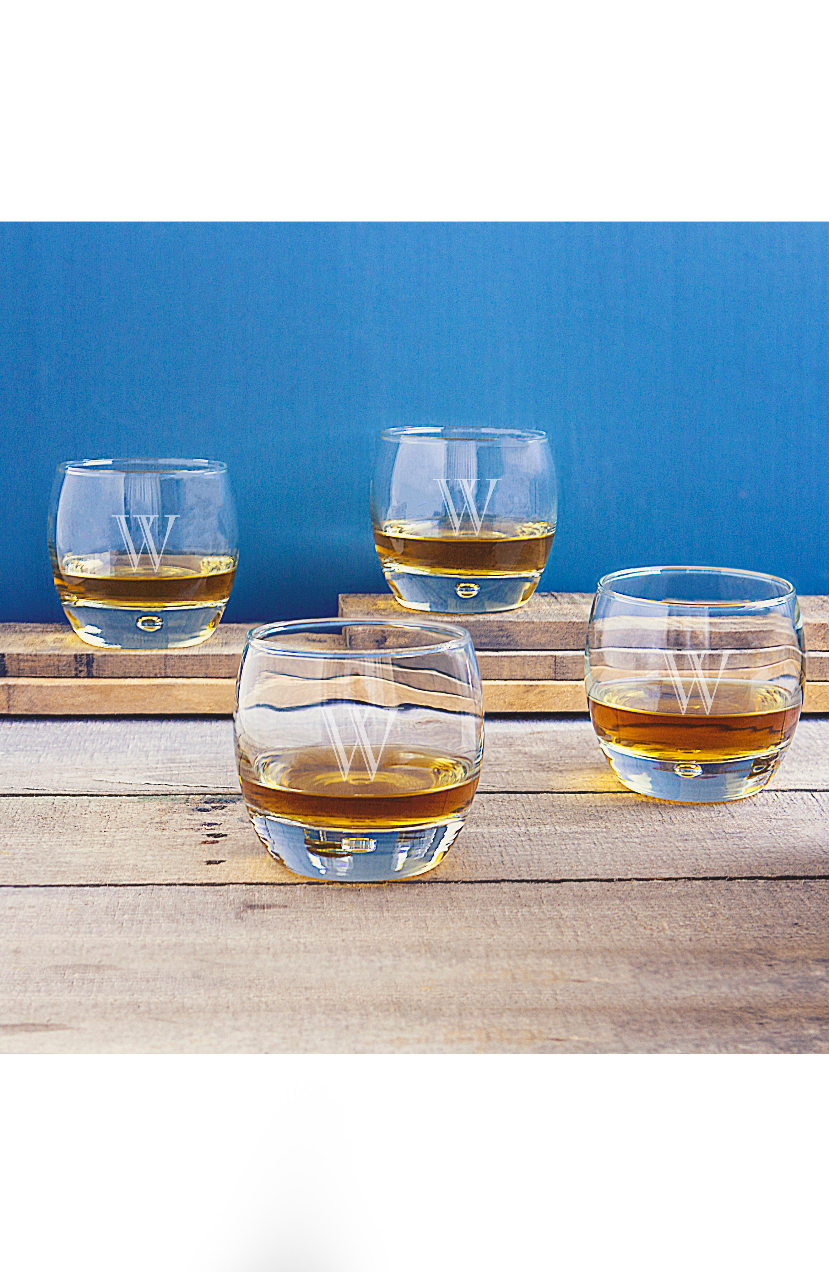 Personalized Whiskey Glasses,                             Alternate thumbnail 4, color,                             123