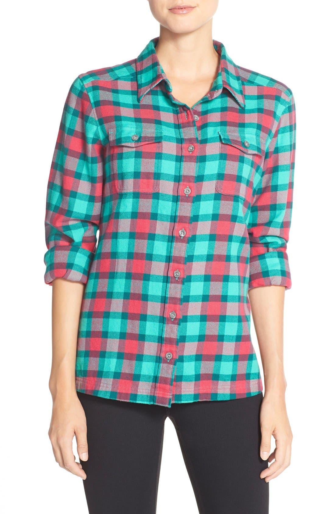 'Fjord' Flannel Shirt,                             Main thumbnail 18, color,