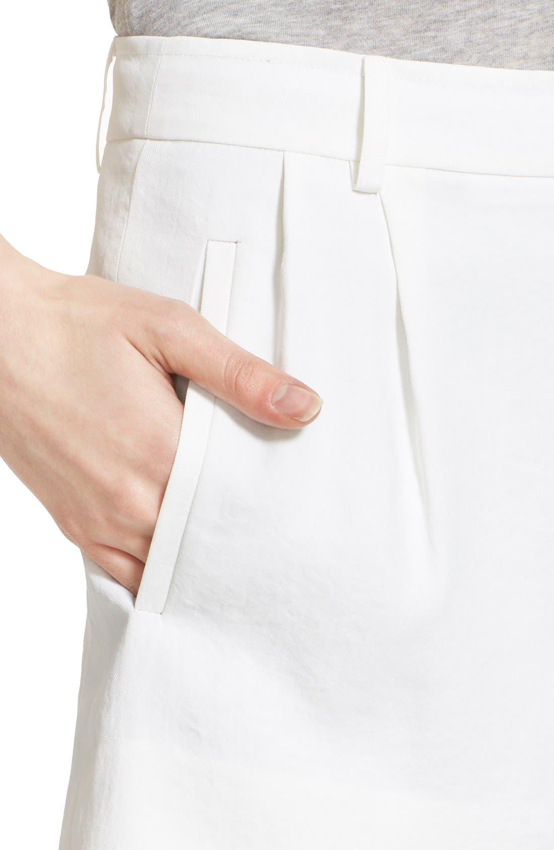 Trouser Shorts,                             Alternate thumbnail 5, color,                             101