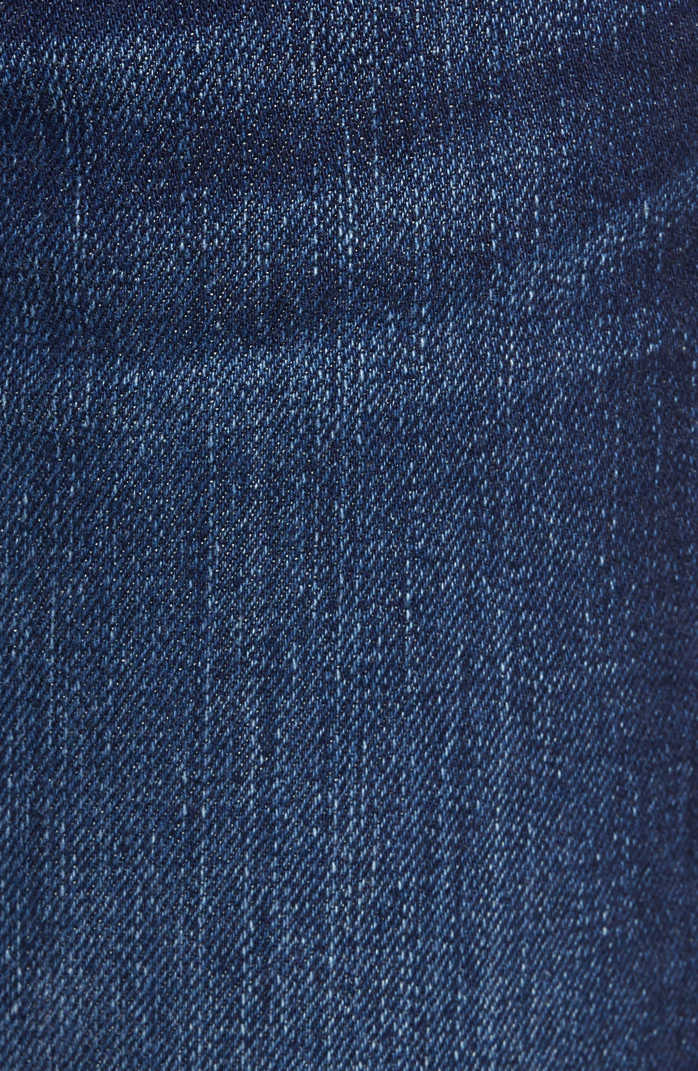 Slim Straight Jeans,                             Alternate thumbnail 6, color,                             420