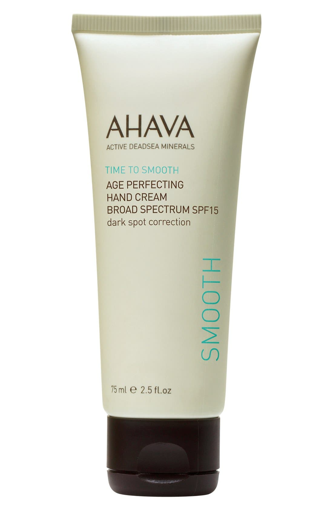 'Time to Smooth' Age Perfecting Hand Cream Broad Spectrum SPF 15,                             Main thumbnail 1, color,                             000