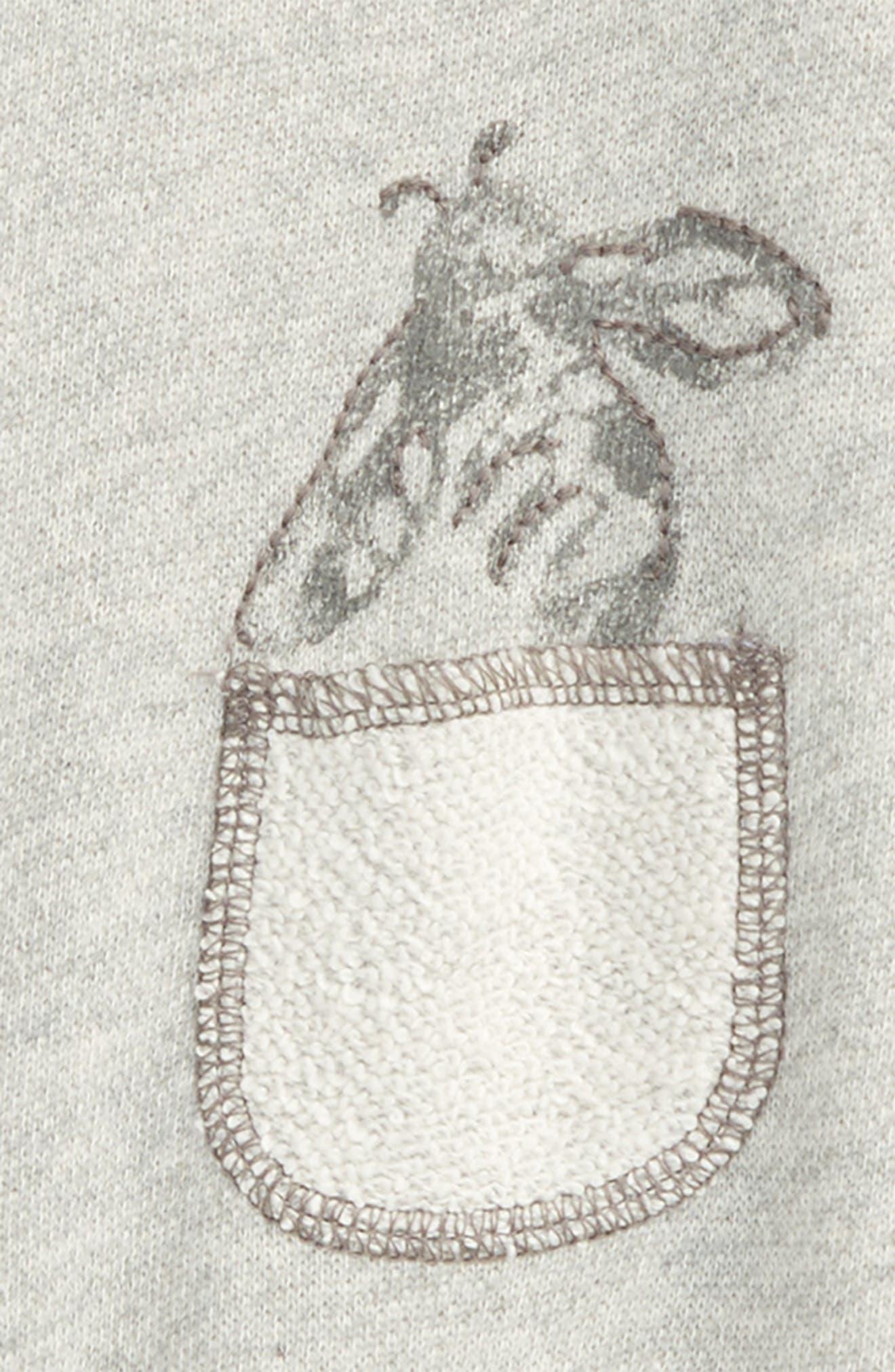 Organic Cotton Terry Romper,                             Main thumbnail 1, color,                             050