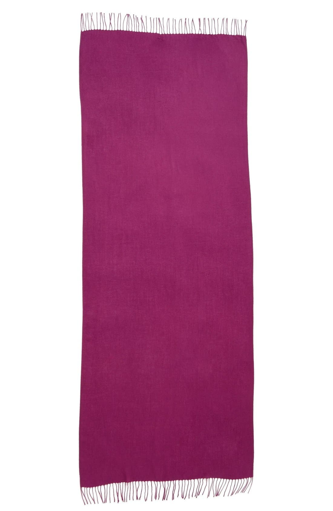 Tissue Weight Wool & Cashmere Scarf,                             Alternate thumbnail 113, color,