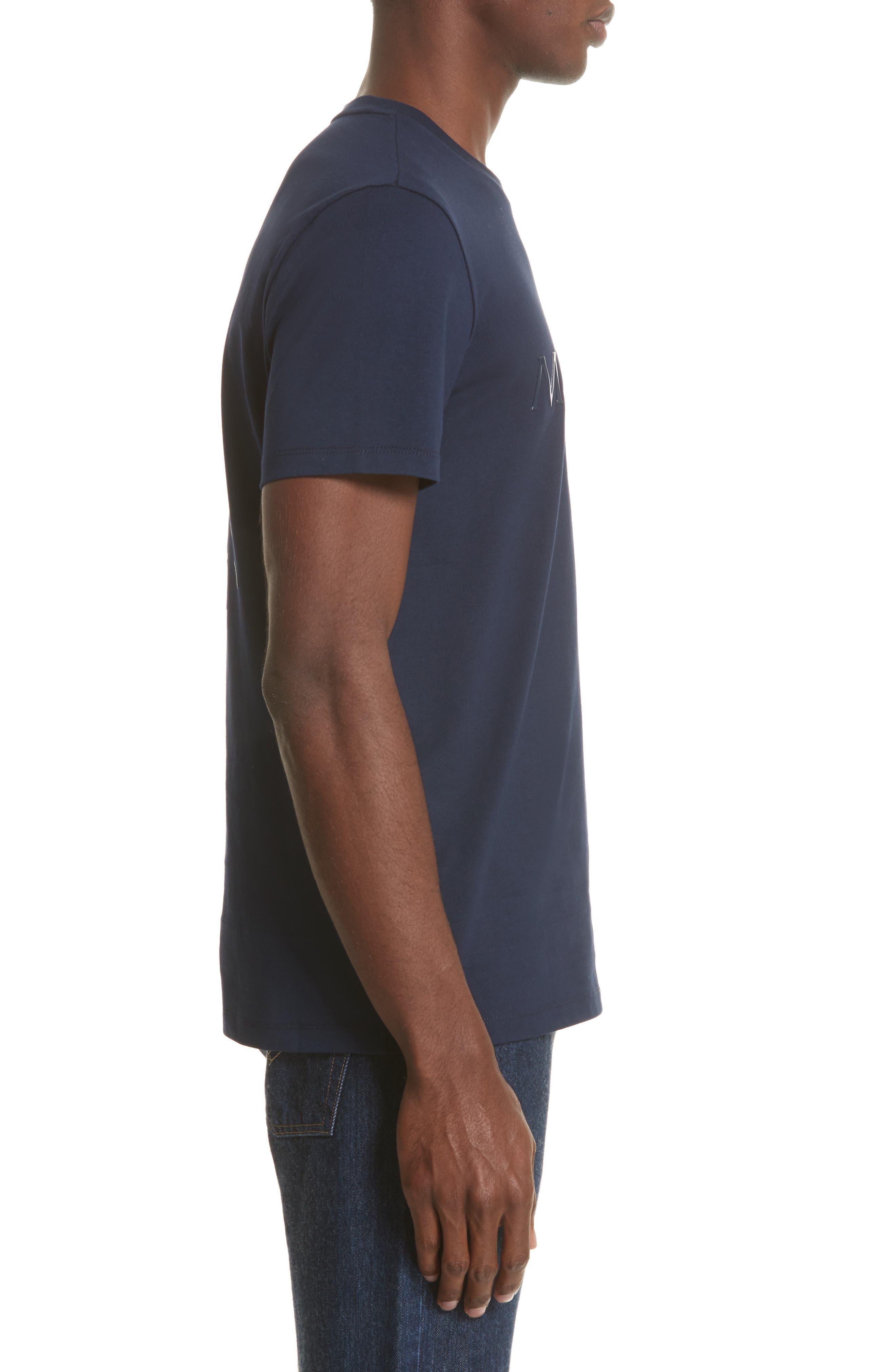 Maglia Print T-Shirt,                             Alternate thumbnail 3, color,                             419