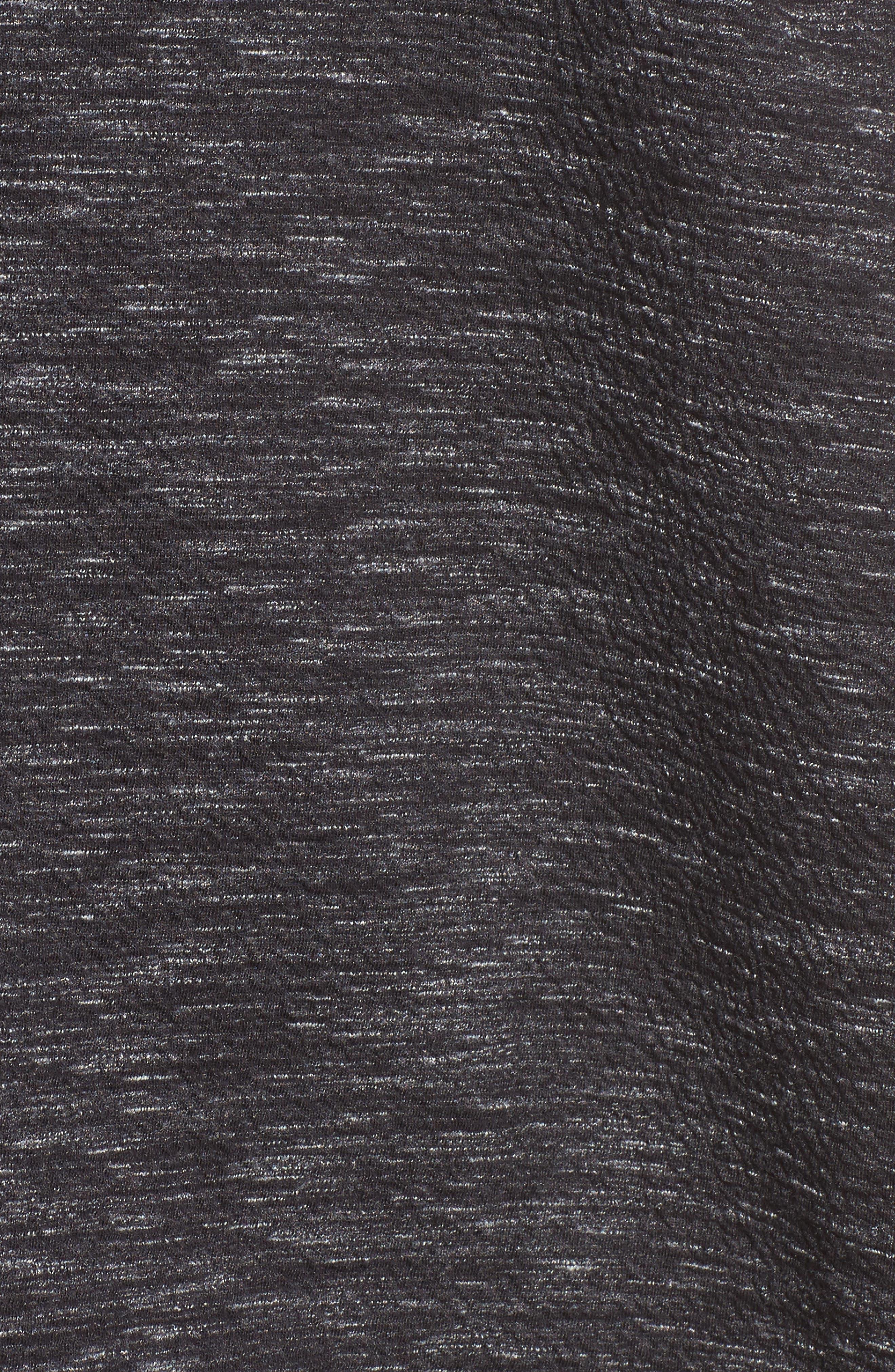 Reversible Marled Knit Jacket,                             Alternate thumbnail 5, color,                             021