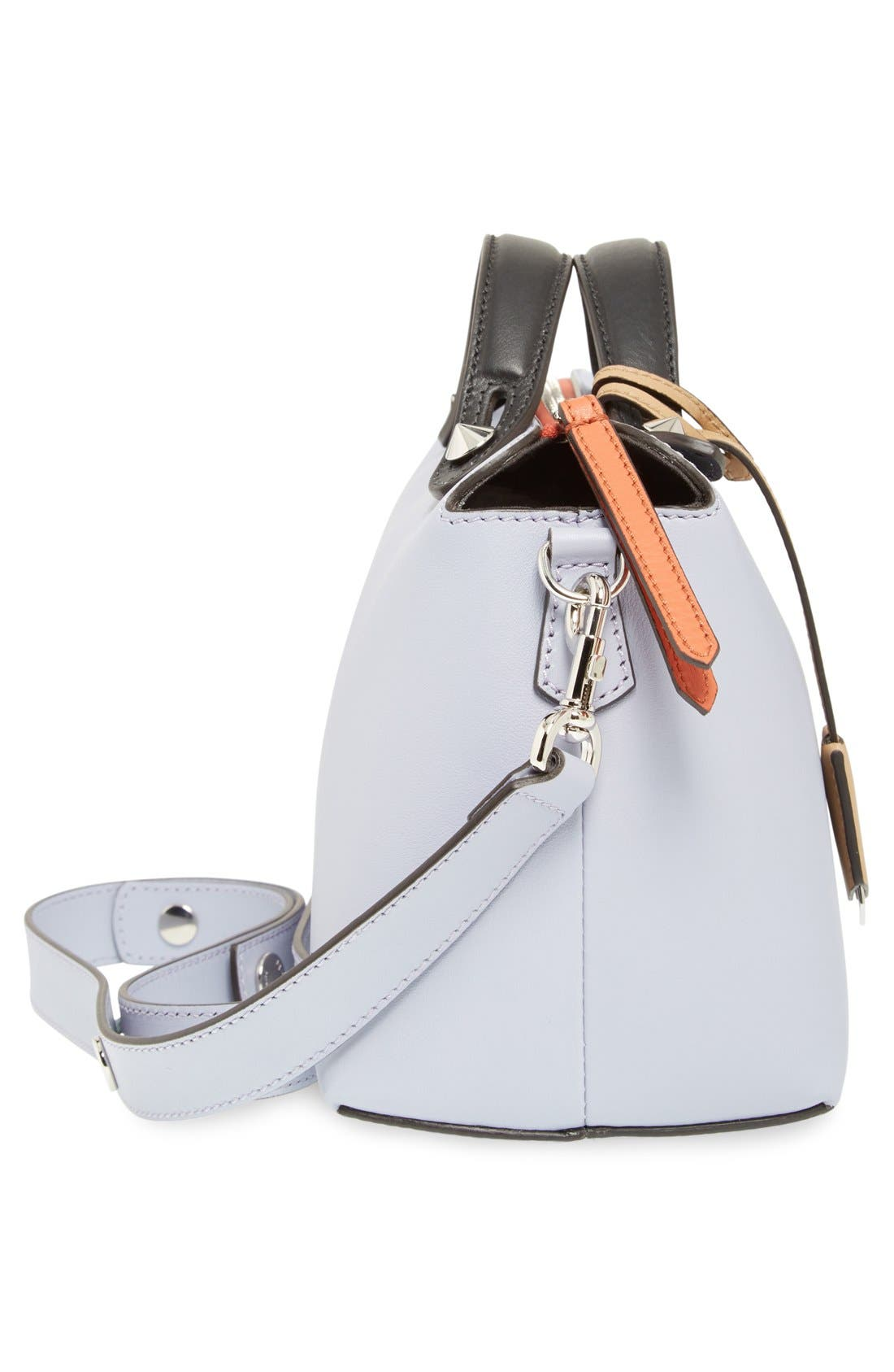 'Medium By the Way' Colorblock Leather Shoulder Bag,                             Alternate thumbnail 64, color,