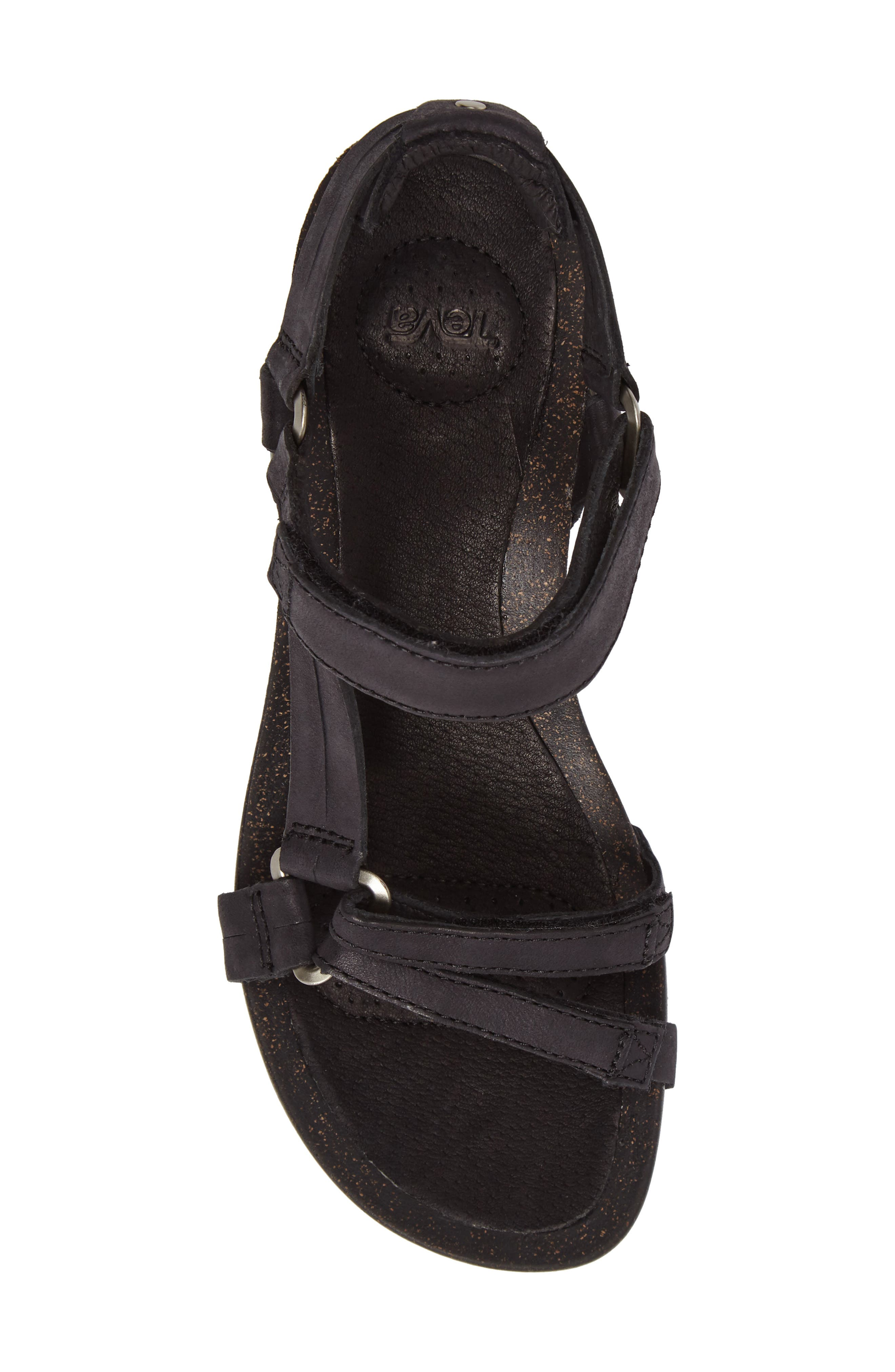 Ysidro Wedge Sandal,                             Alternate thumbnail 5, color,                             002